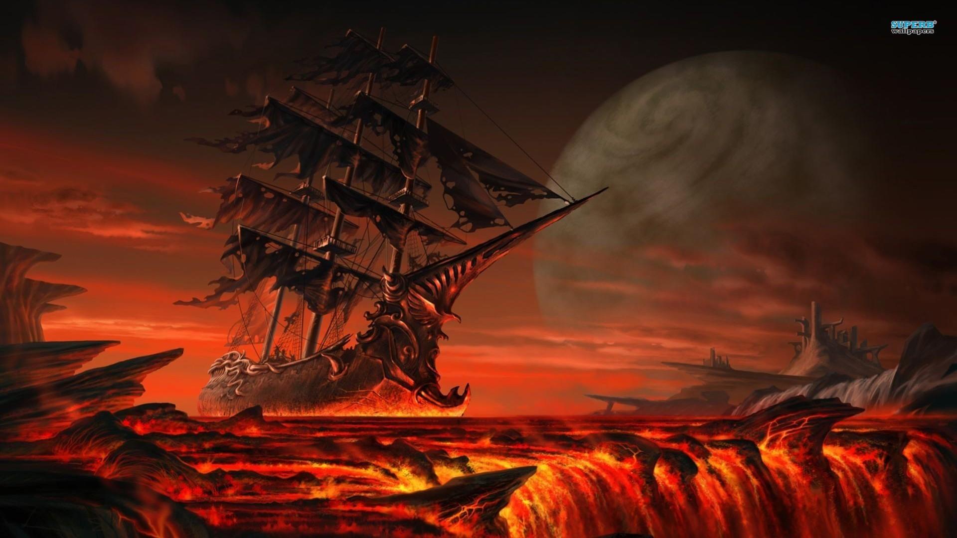 Fantasy Lava Wallpaper 25757 1920x1200 px