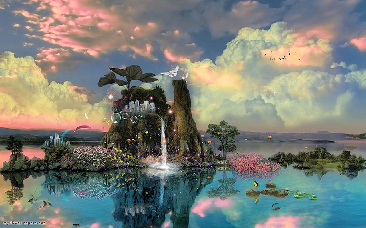 Fantasy Nature Backgrounds