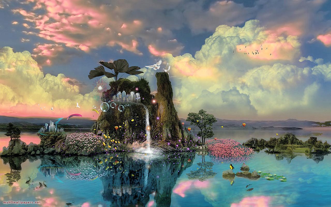 Fantasy Nature Backgrounds