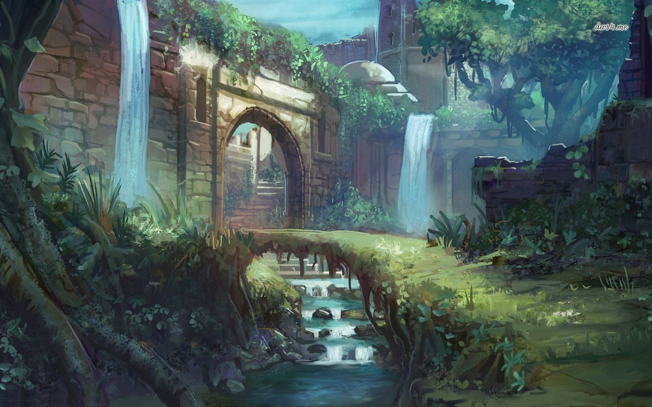 Fantasy Path Wallpaper