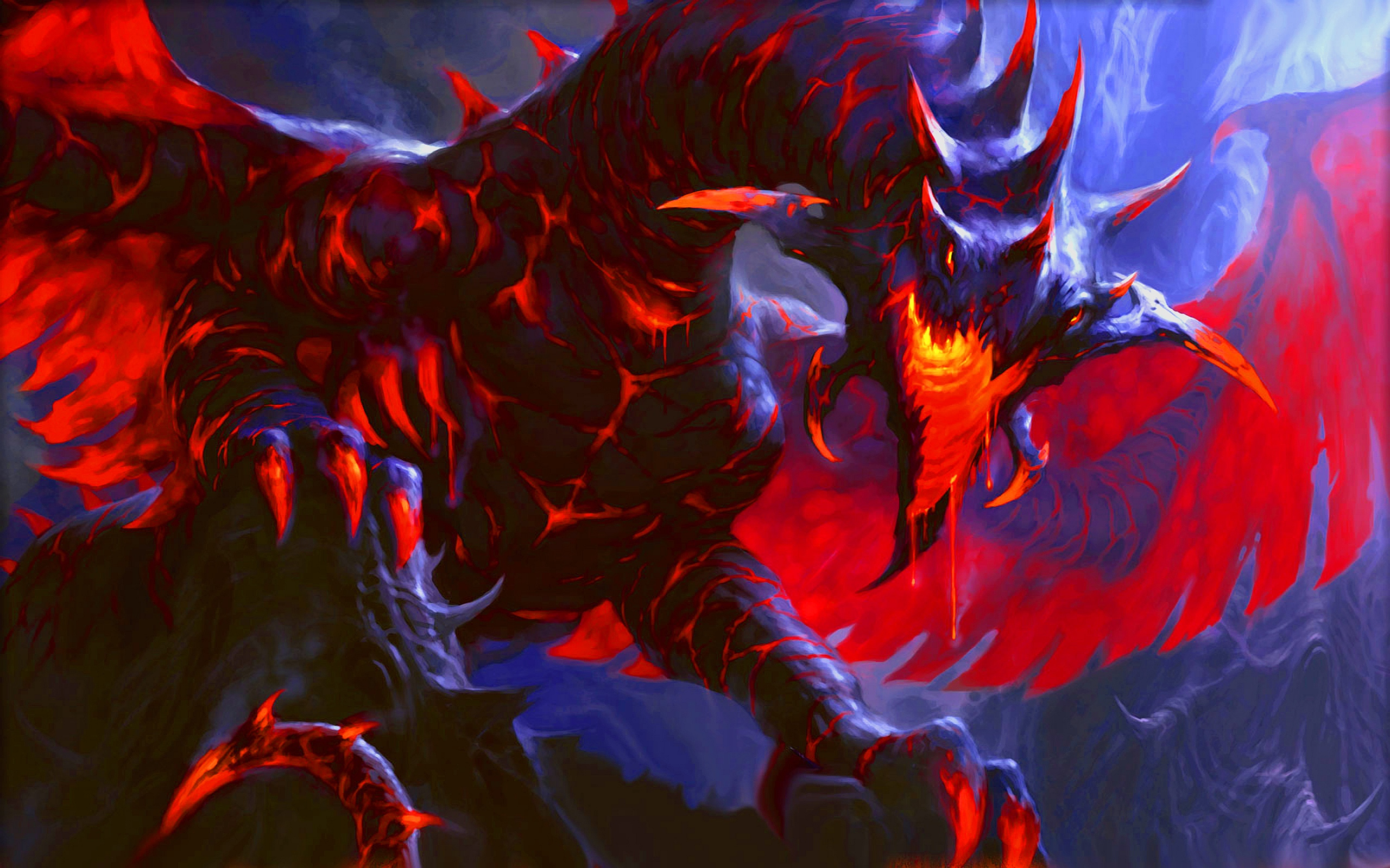 Fantasy Red Dragon