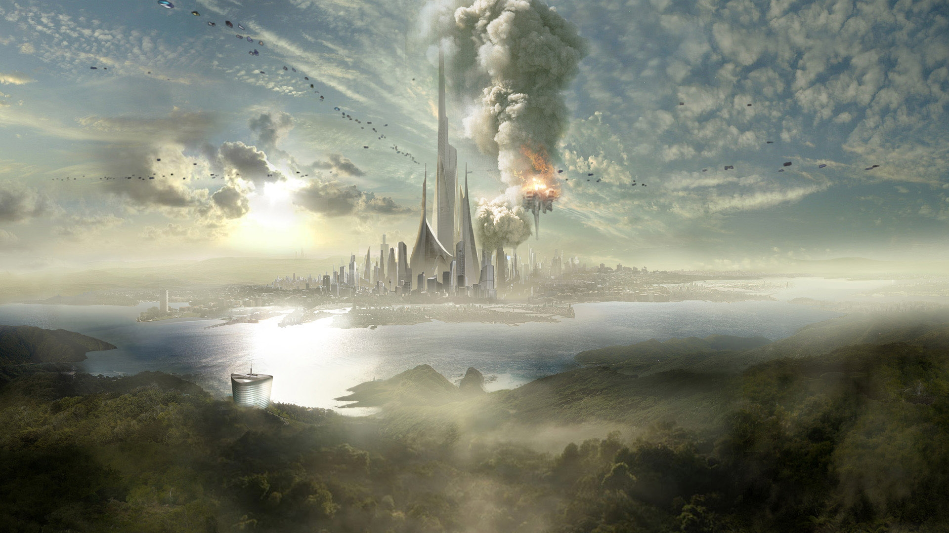 Fantasy Sci Fi Fantasy Sci Fi Desktop Wallpaper