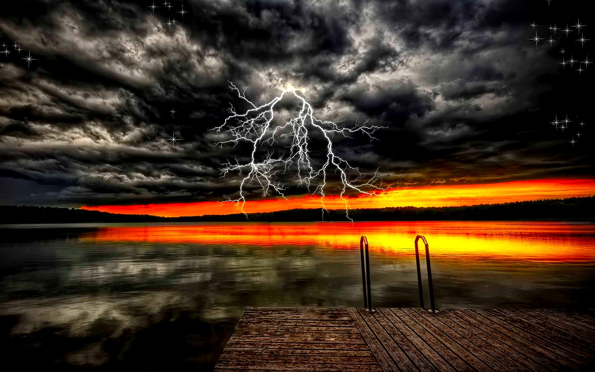 fantasy storm clouds wallpaper 1920x1200 22384