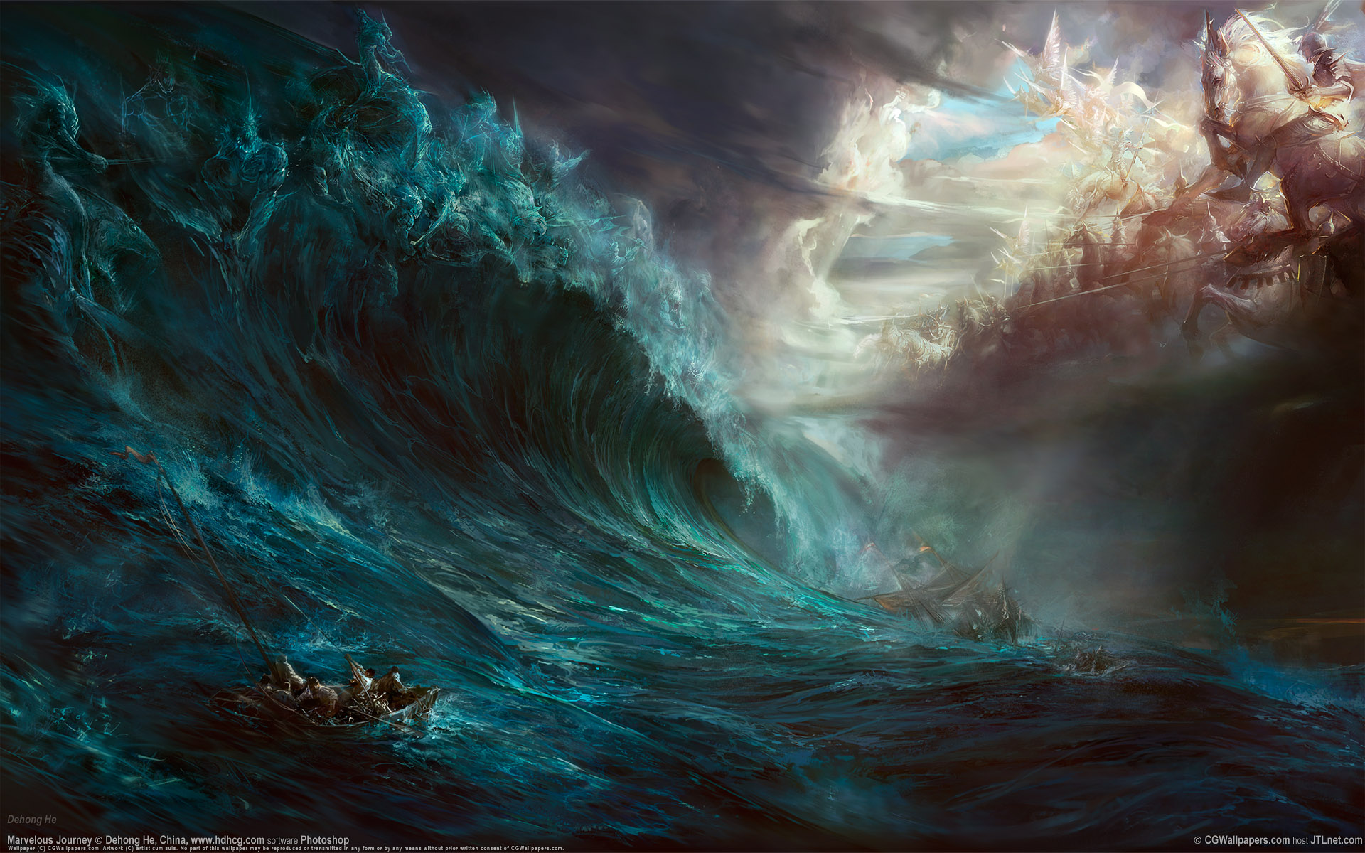 Waves Art Fantasy