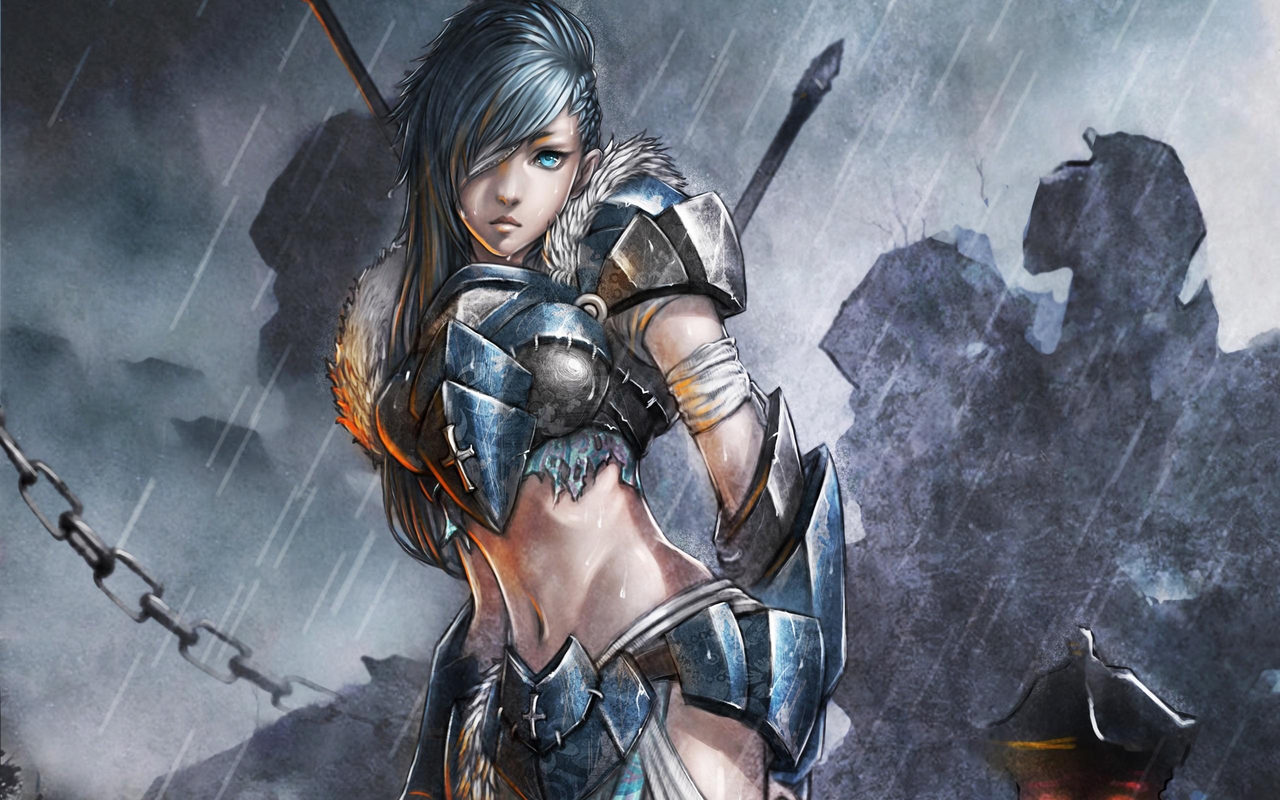Fantasy Girl Warrior