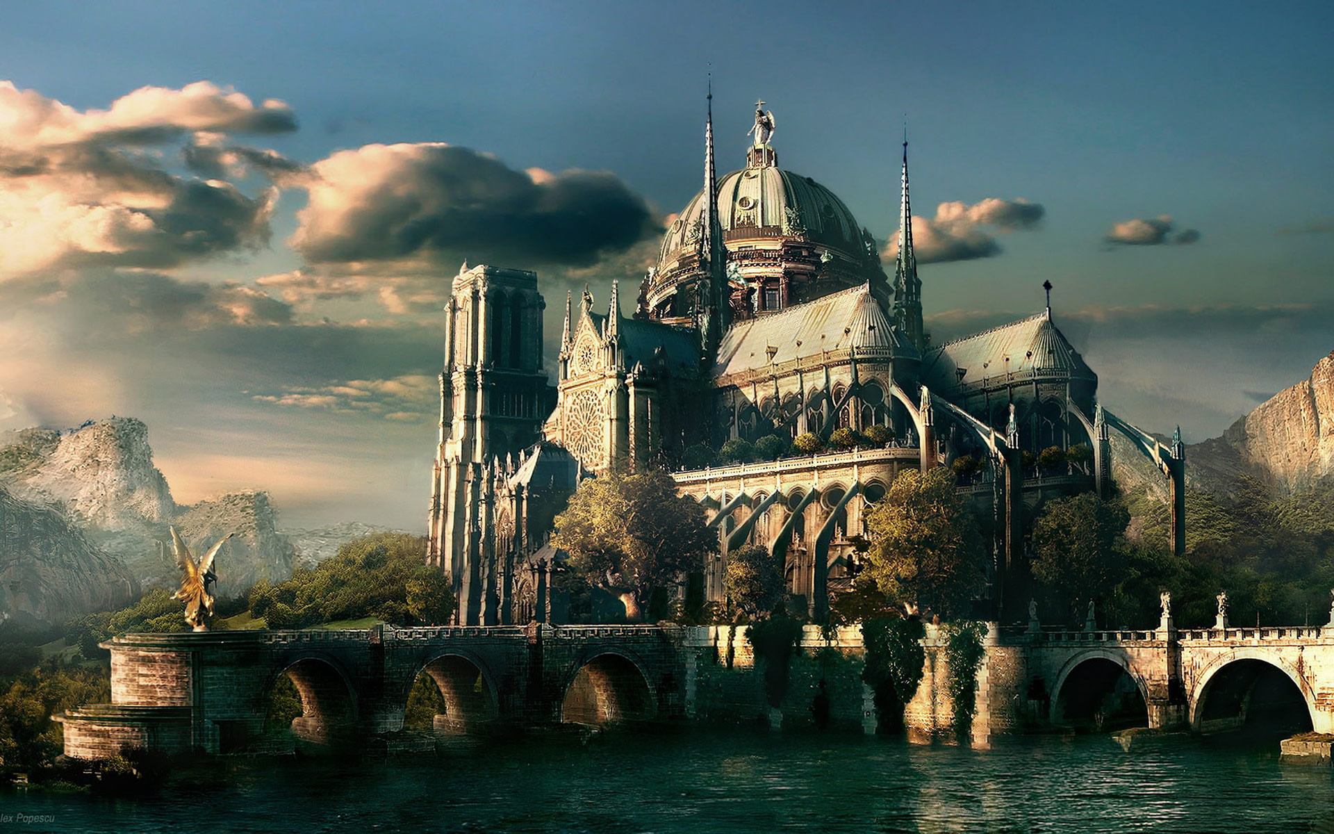 Fantasy World Images Background Hd 2