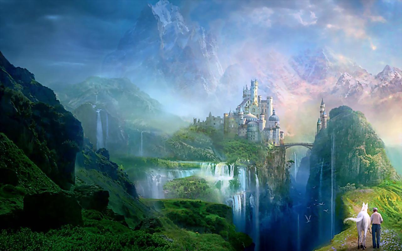 Fantasy world for my friend luna HQ WALLPAPER - (#90286)