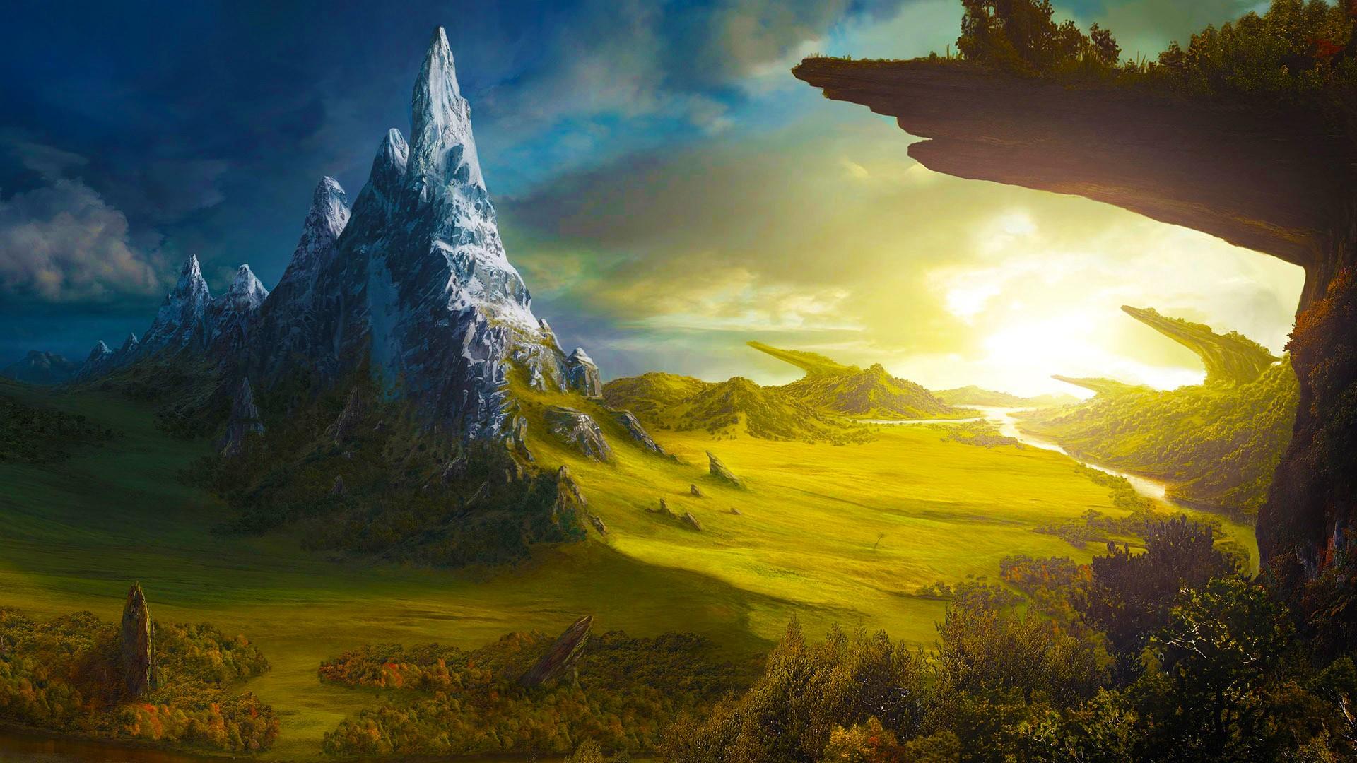 Fantasy World Background