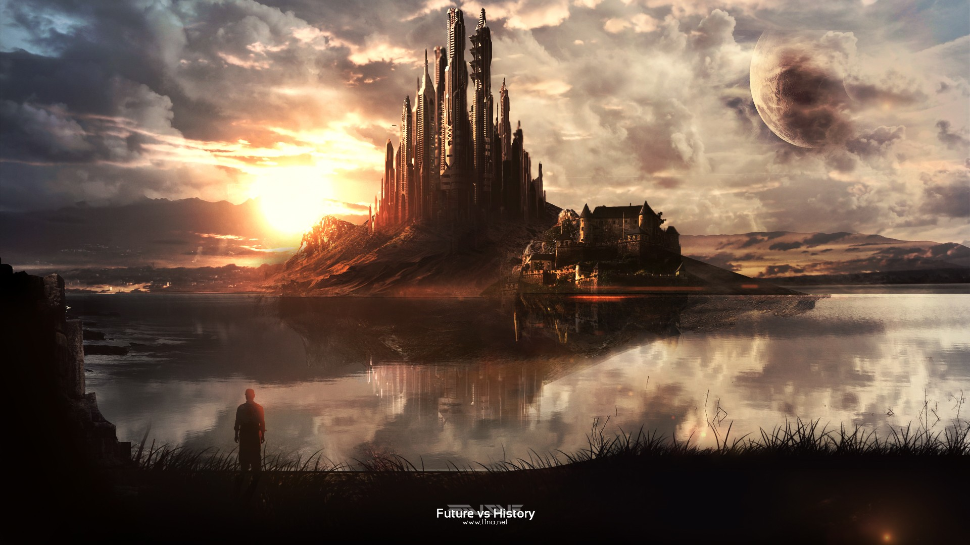 Fantasy world speed painting