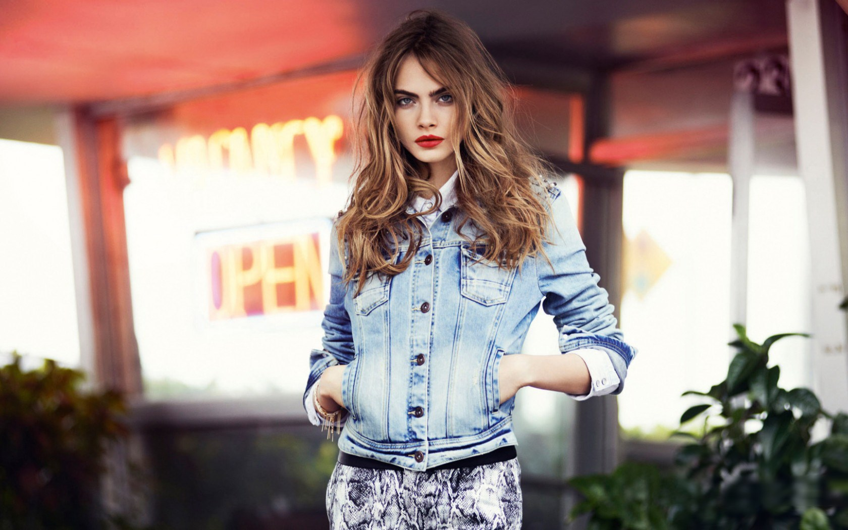 Fashion Model Girl Cara Delevingne HD wallpaper 1680x1050 ...