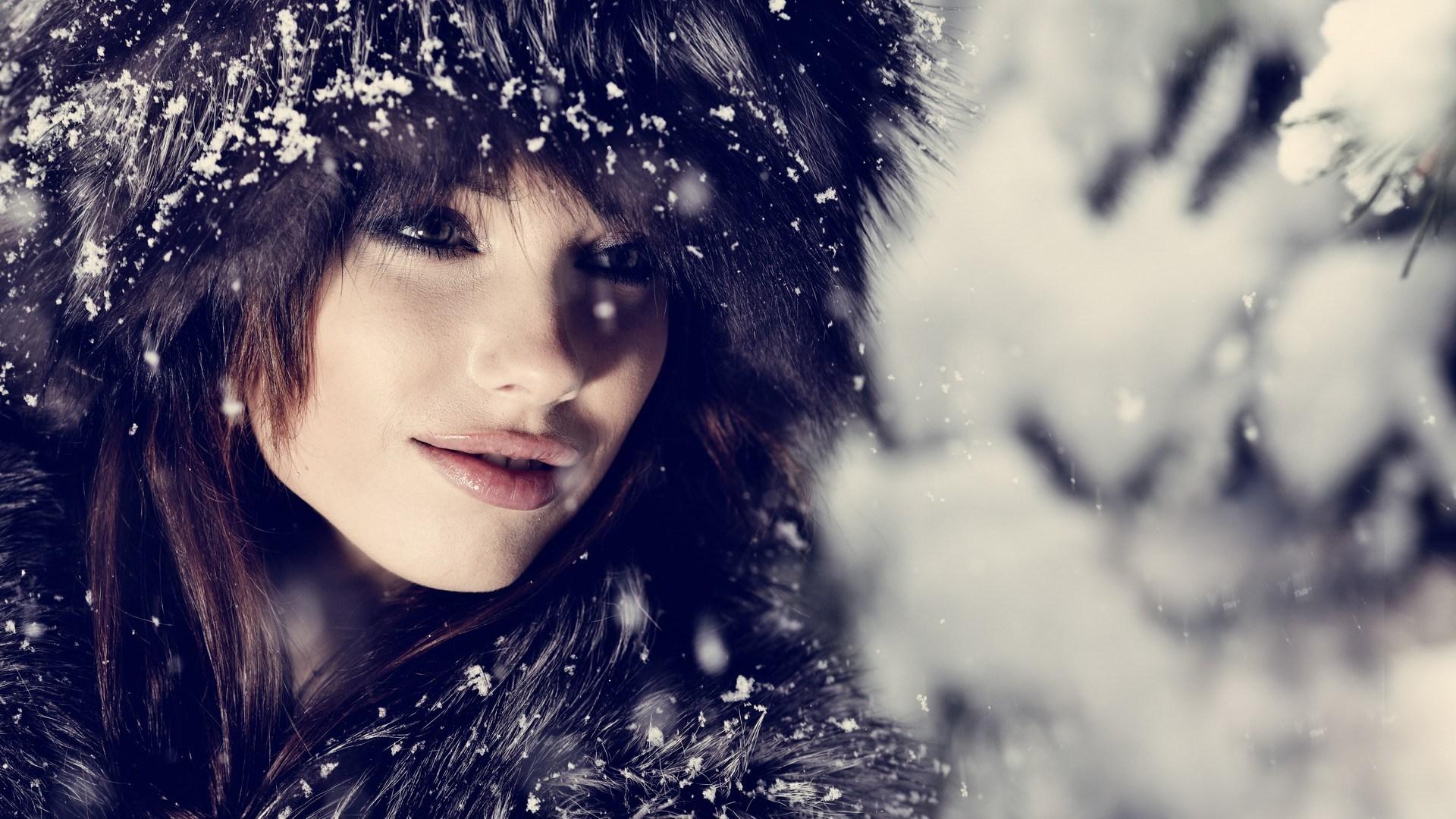 Fashion Model Winter