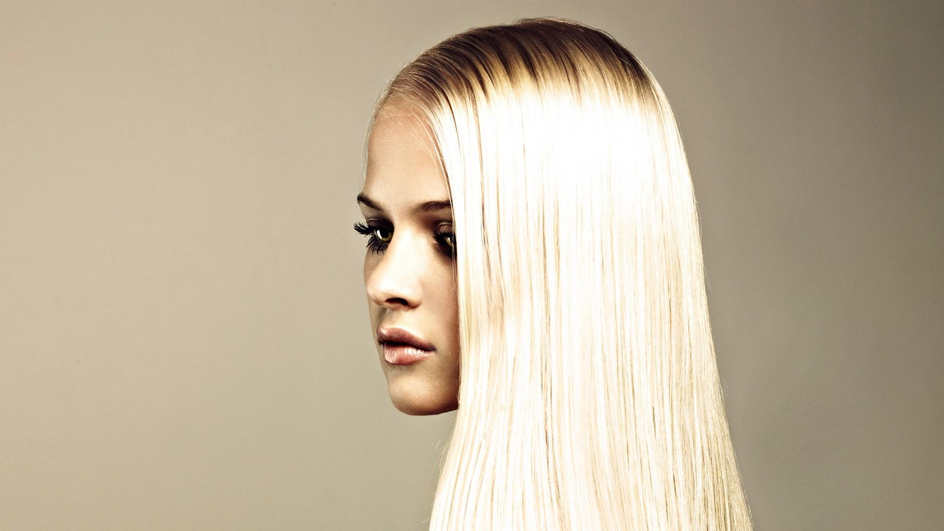 Fashion Photography Beauty Blonde Girl Model Portrait