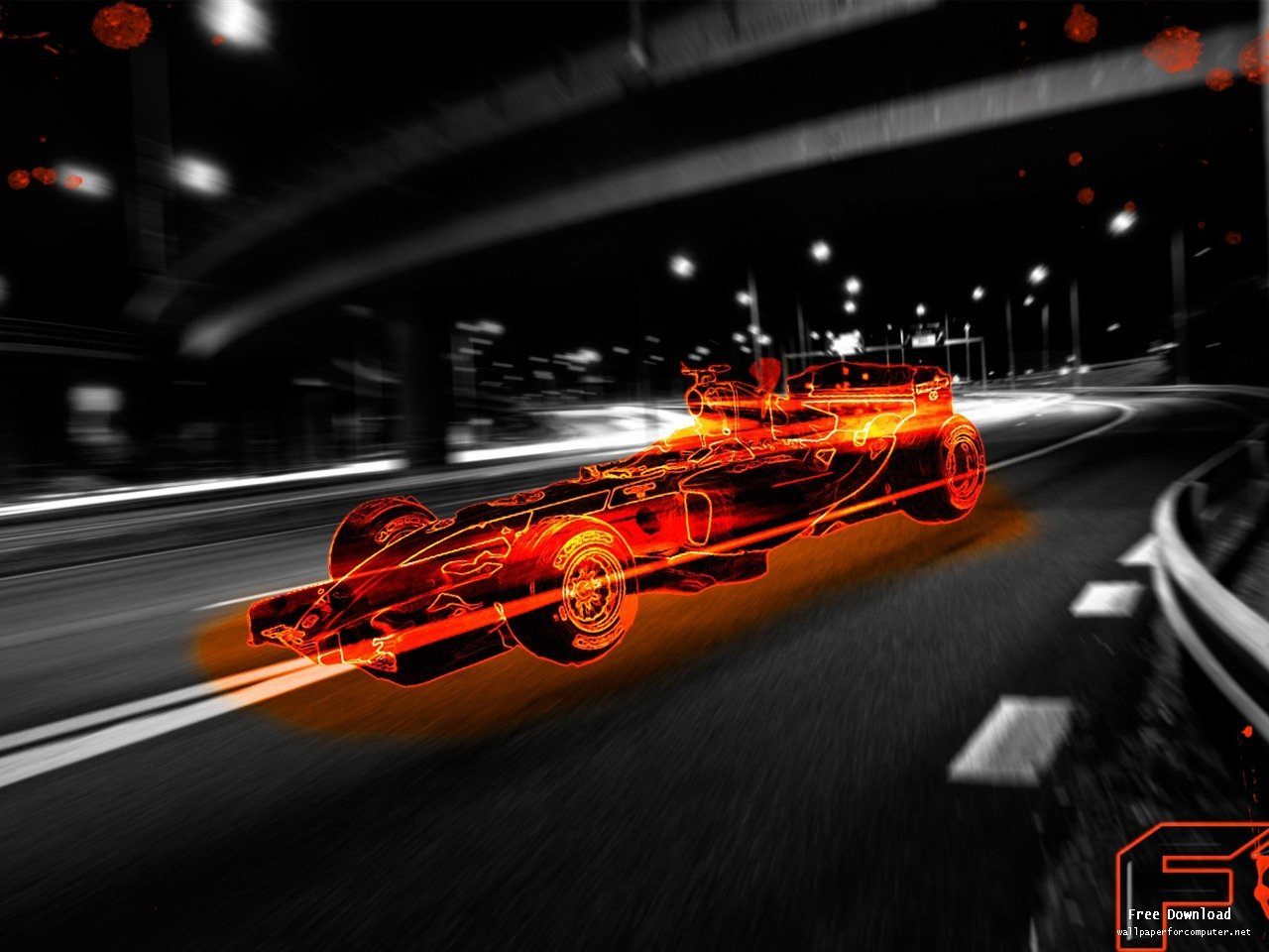 Formula One Fast Car Wallpaper<br ...