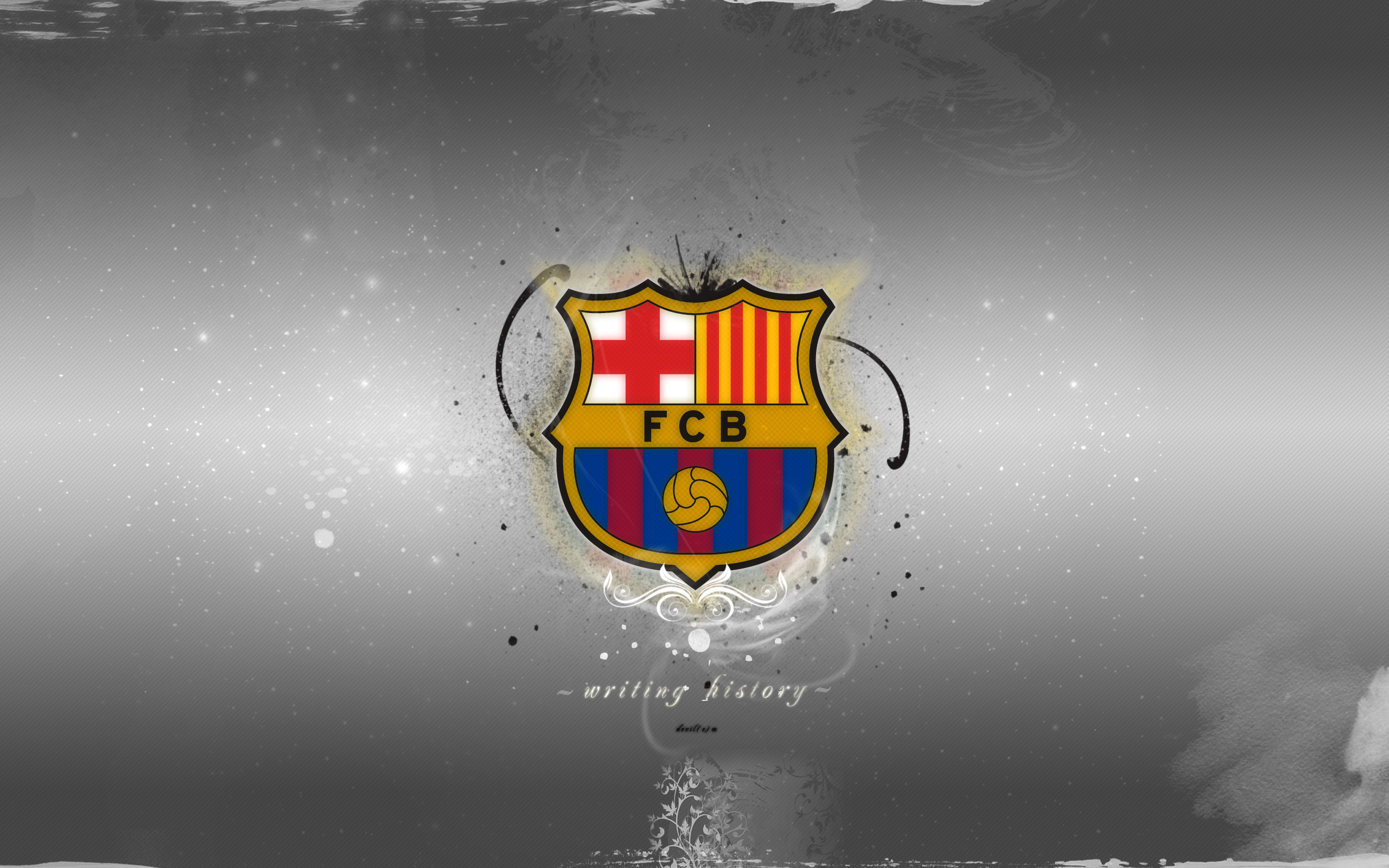 Fc Barcelona Desktop Wallpaper 2560x1600 34779