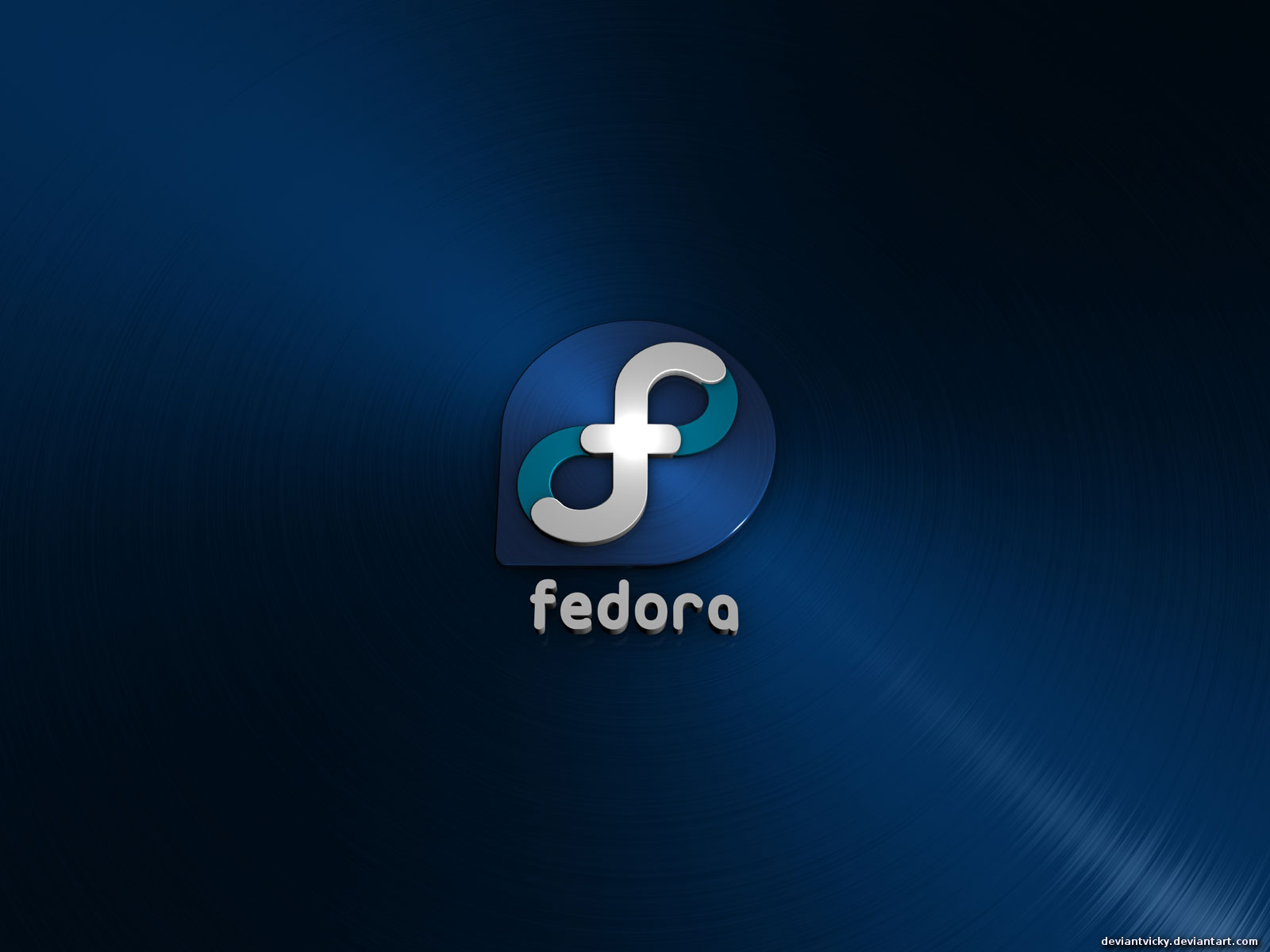 Fedora Logo Wallpaper