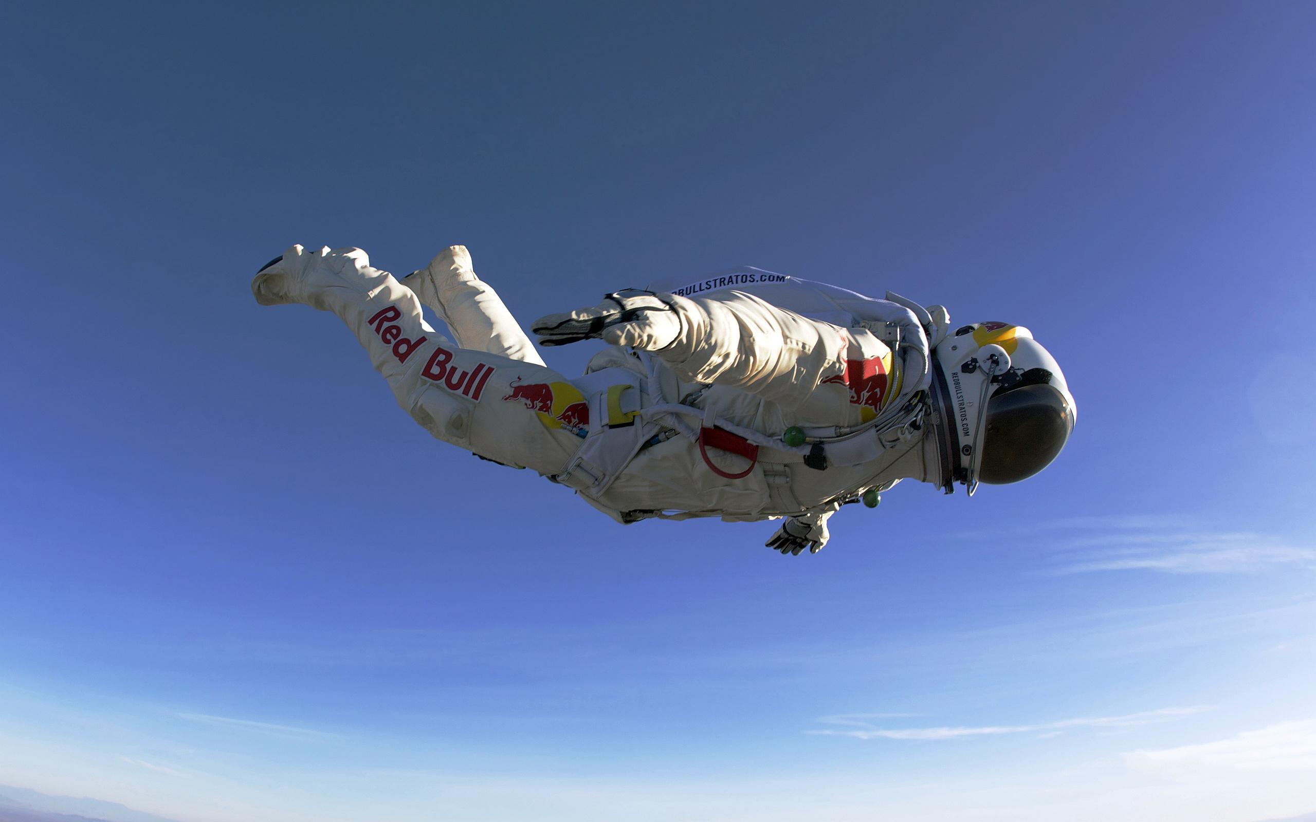 Felix Baumgartner Free Fall