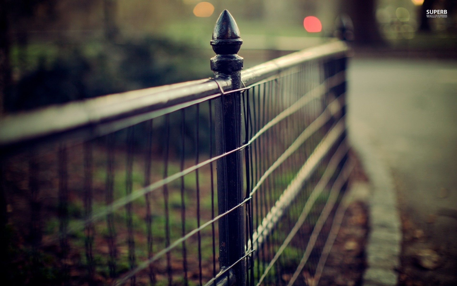 Fence Wallpaper