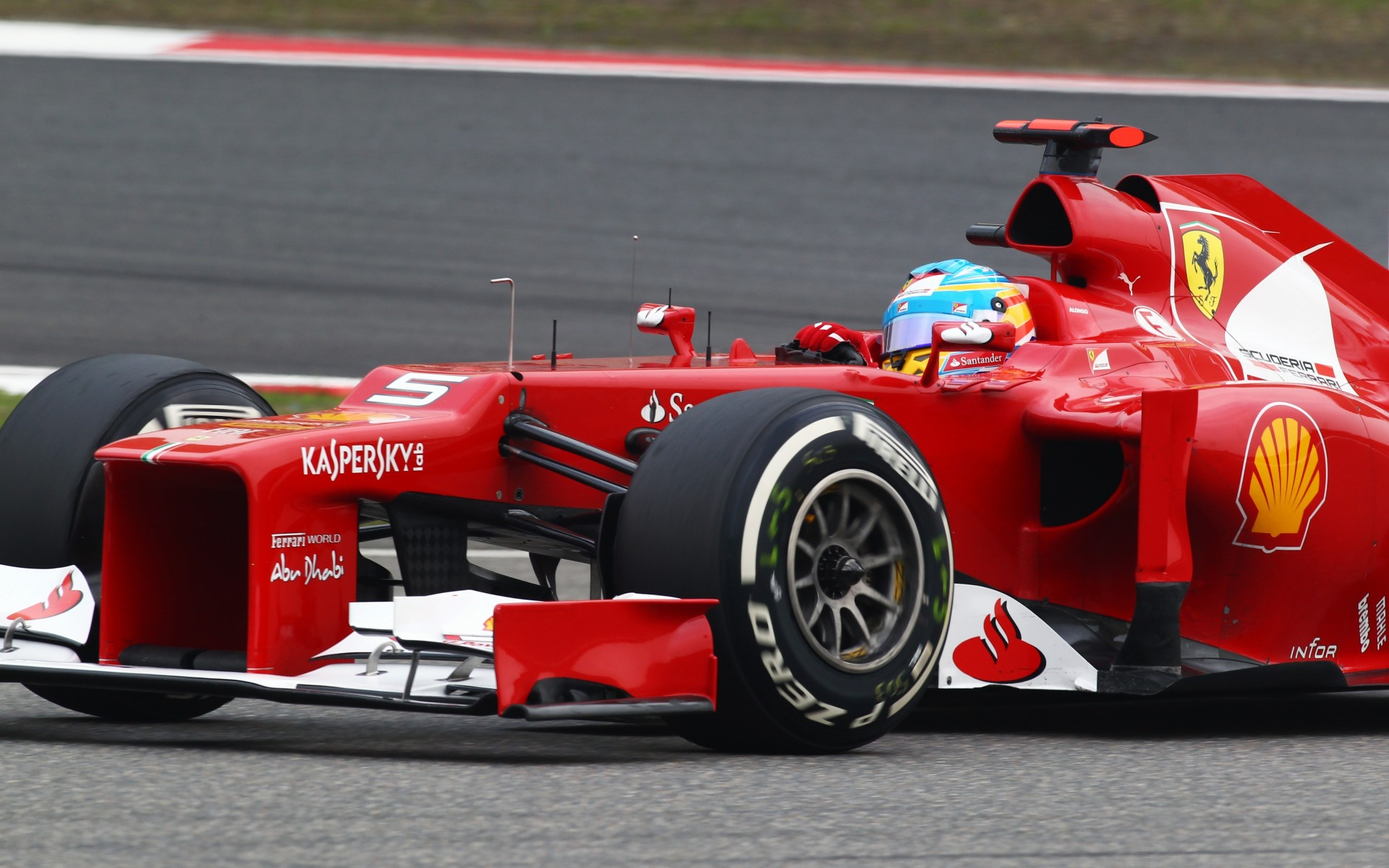 Ferrari F1 Fernando Alonso Formula-1 wallpaper background