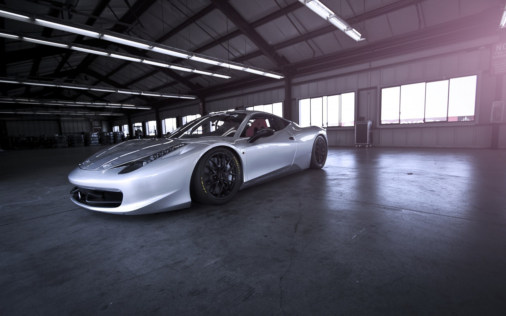 Ferrari 458 Challenge Warehouse