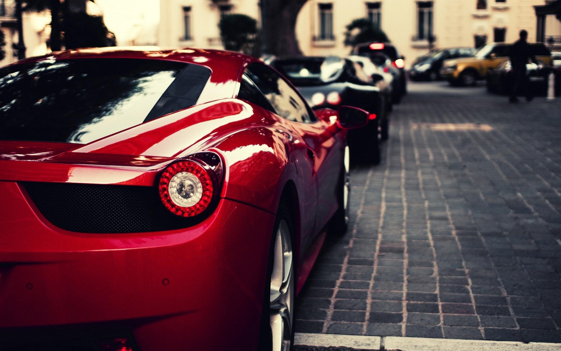 Ferrari 458 Italia Bugatti Veyron City Cars