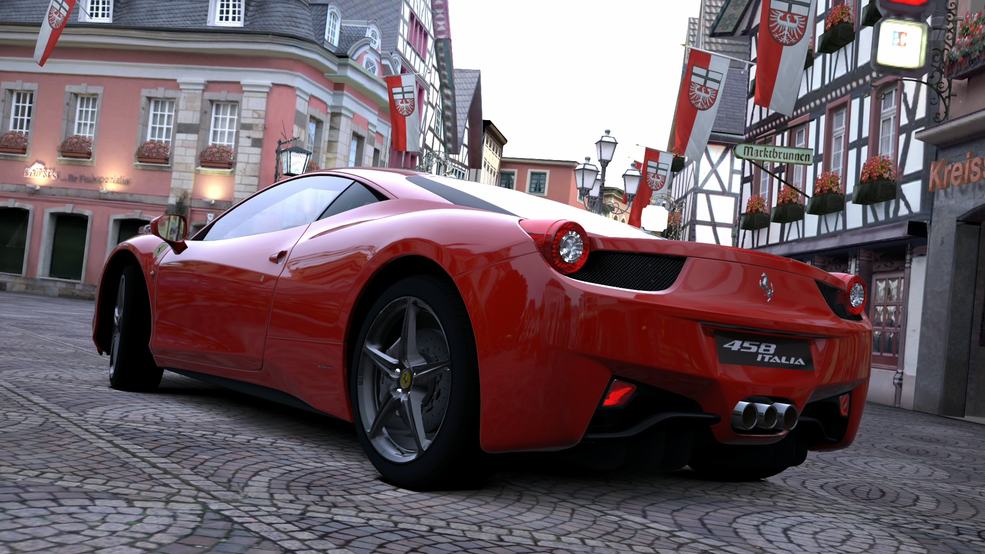 Ferrari 458 italia gt5