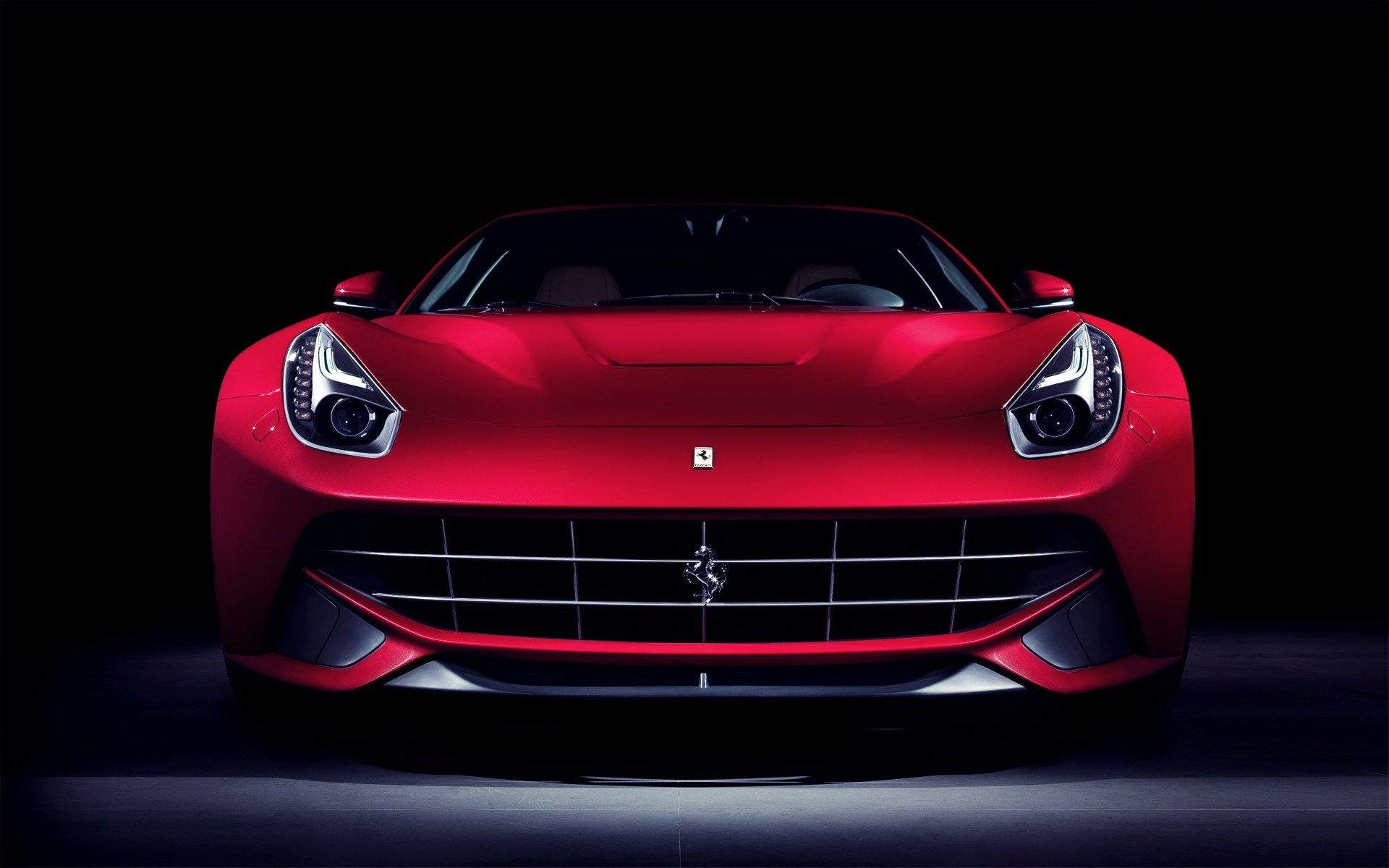 Ferrari F12 Top View >> Ferrari F12 Berlinetta Car Front wallpaper | 1920x1200 | #16781