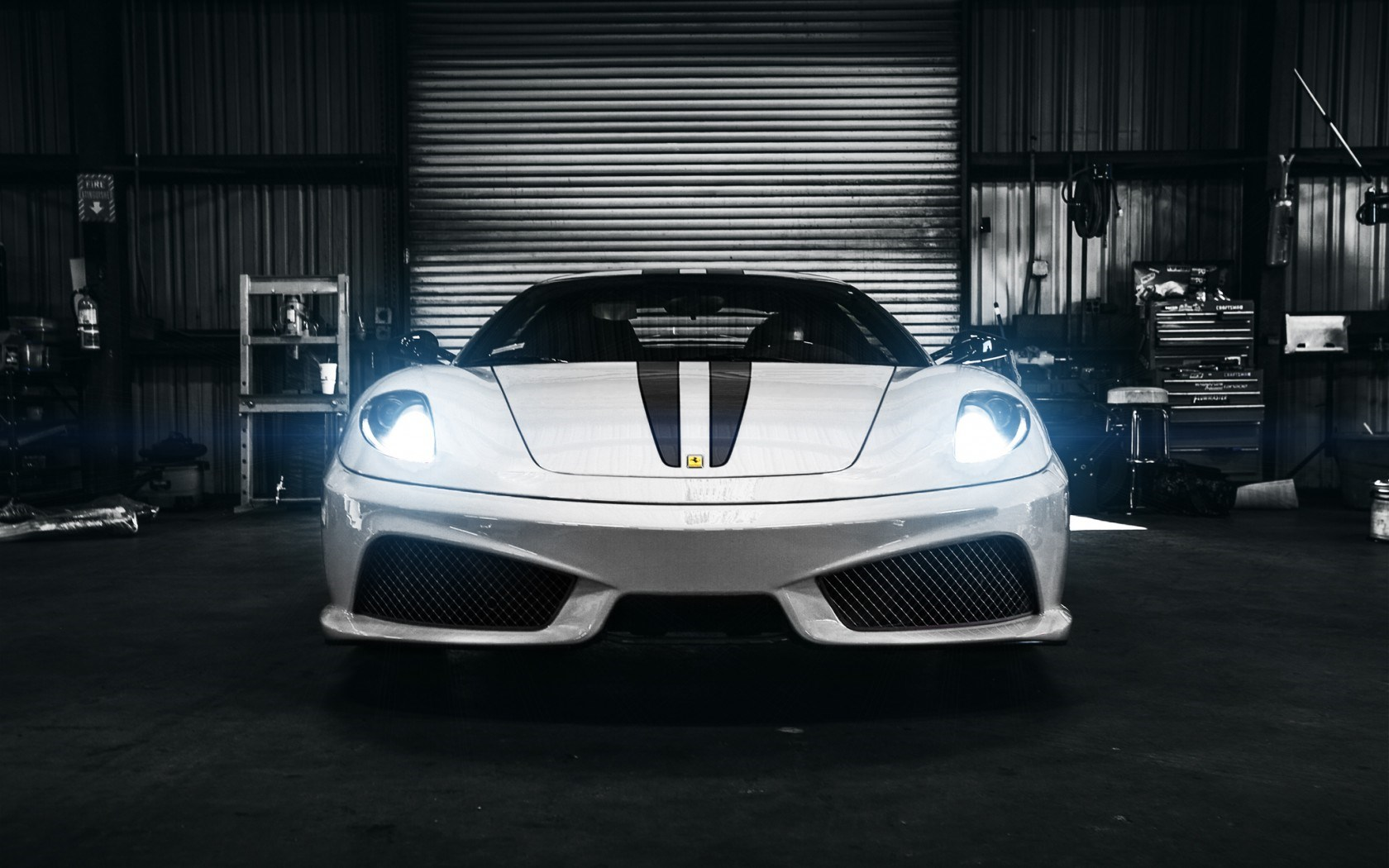 Ferrari F430 Scuderia Car Front Lights