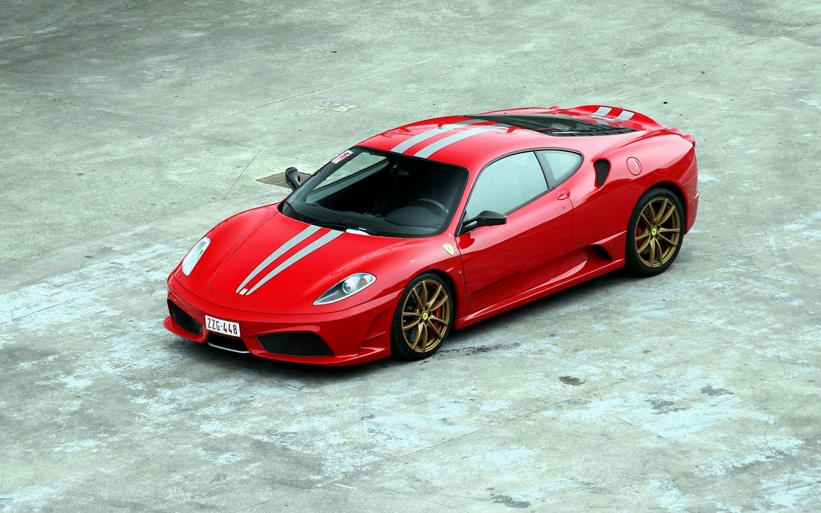ferrari f430 scuderia red wallpaper 1680x1050 16799. Black Bedroom Furniture Sets. Home Design Ideas