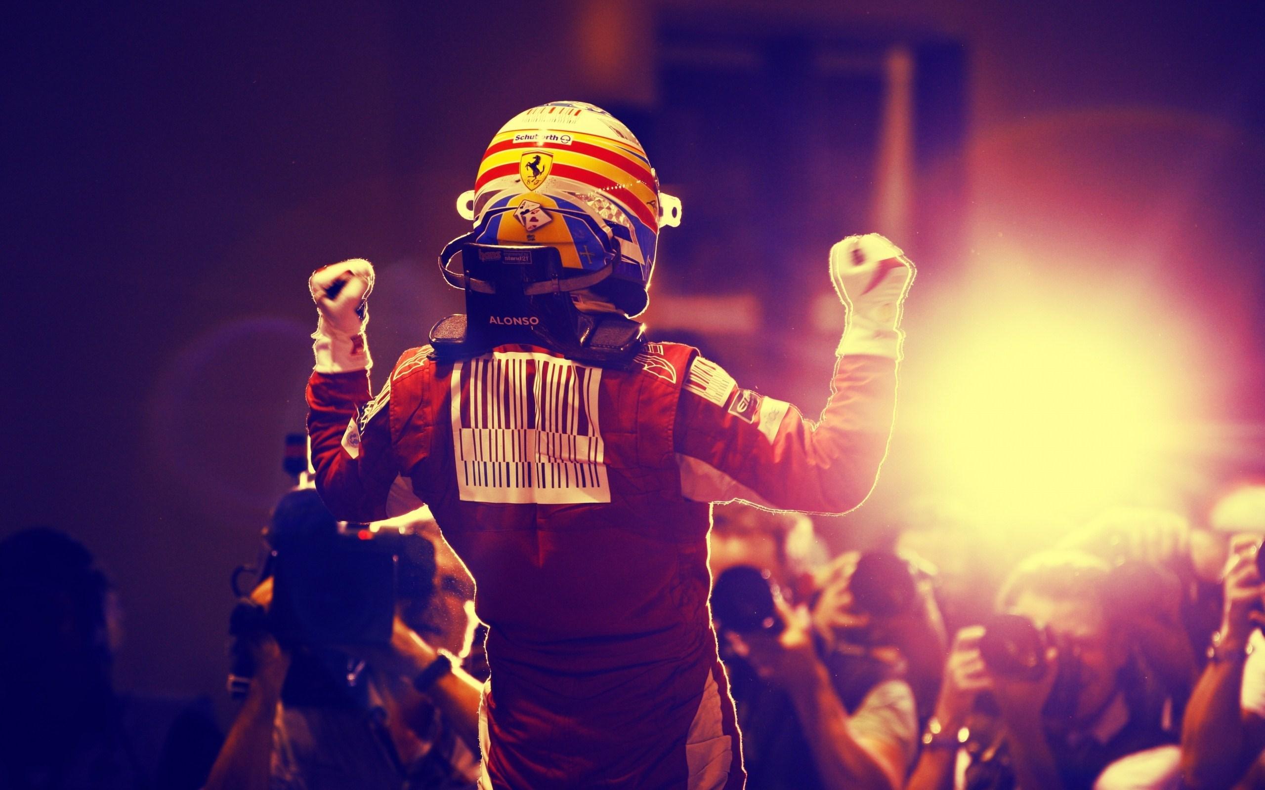 Ferrari Formula 1 Fernando Alonso Singapore Photo