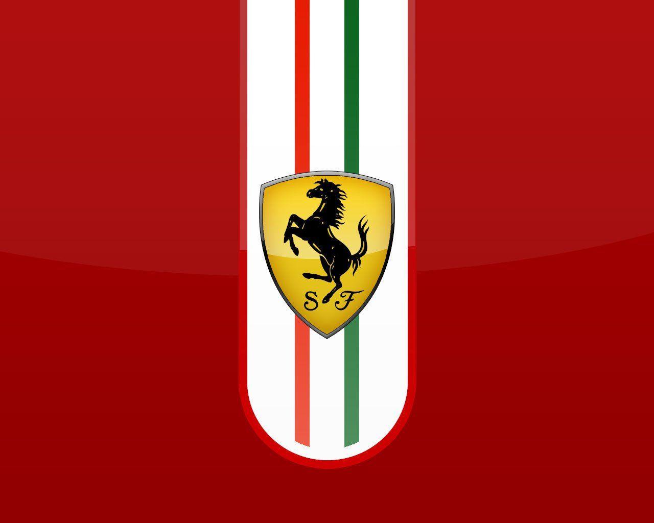 Ferrari Logo Wallpaper-0