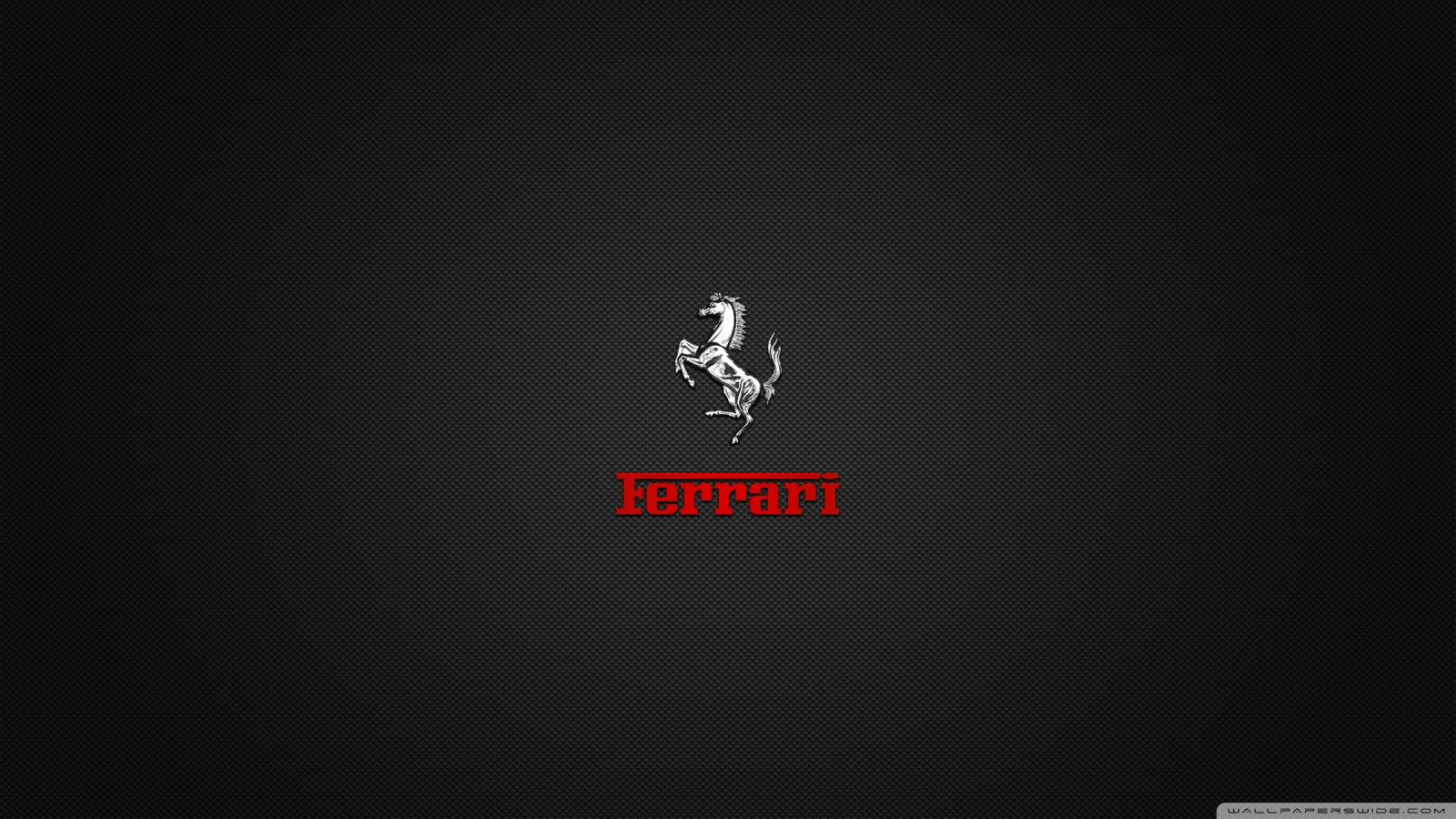 Ferrari Logo Black Background Wallpaper Image source from this