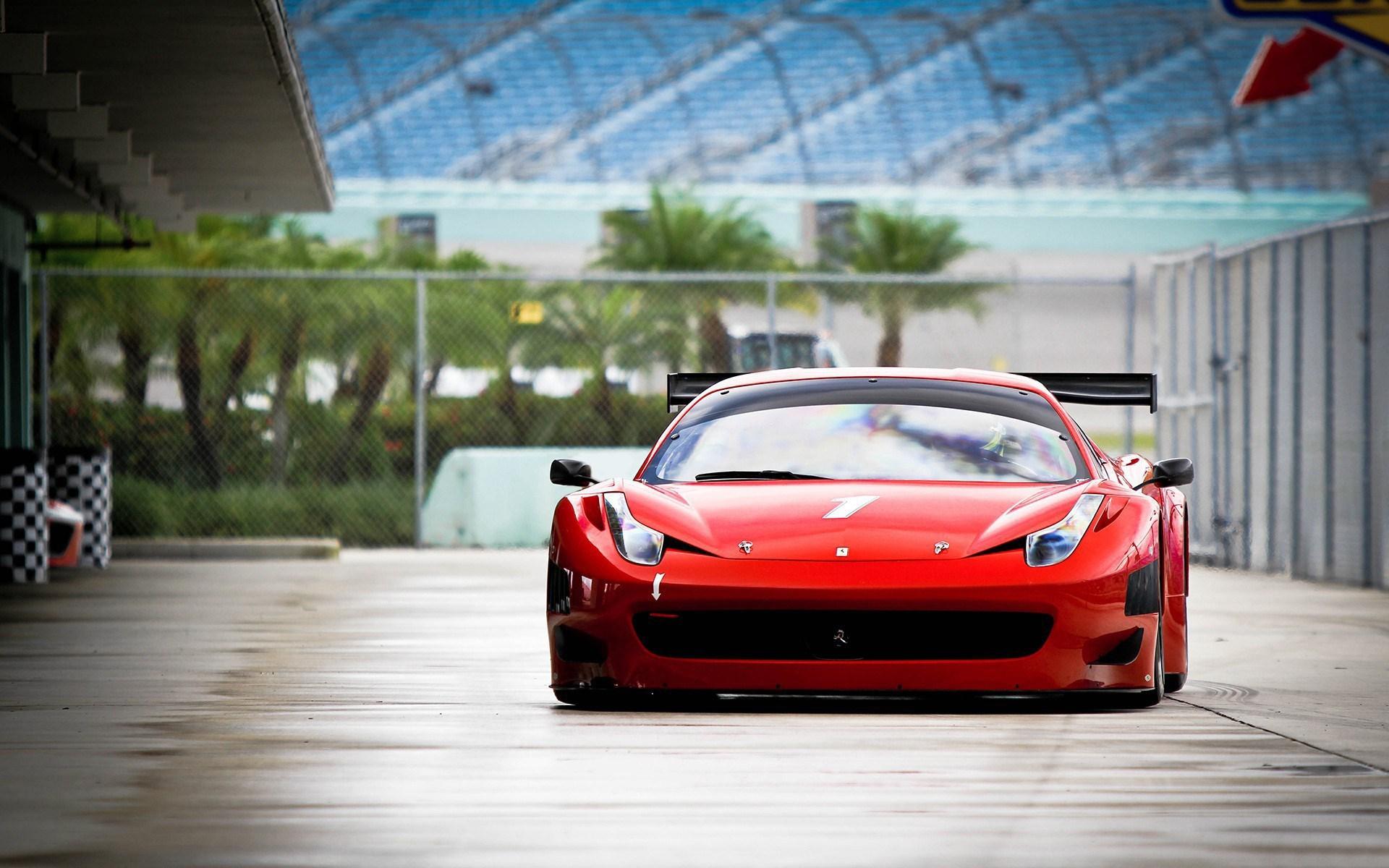 Ferrari Red Car Tuning