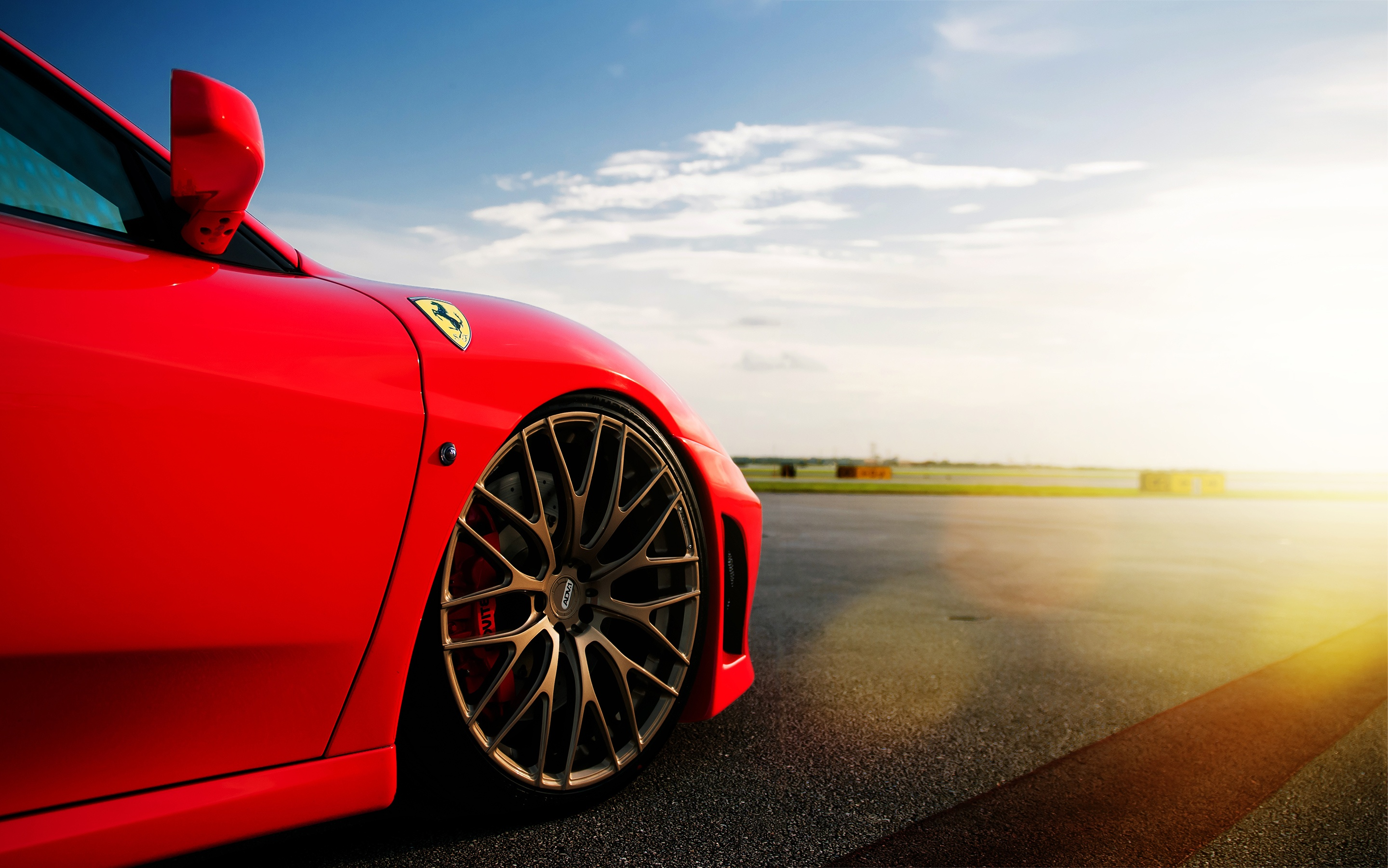 Download Ferrari Wallpaper Wide Background #14504