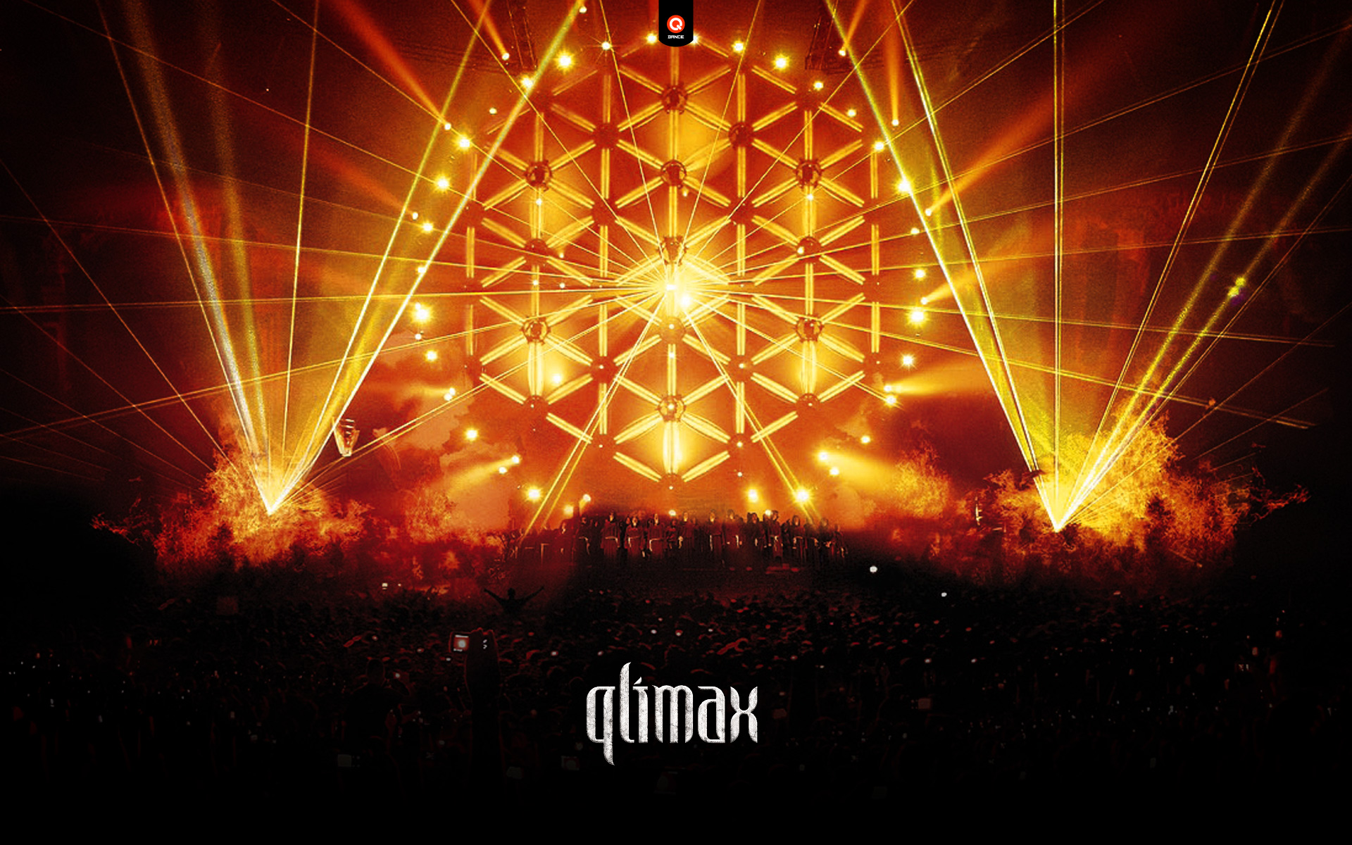Qlimax Festival Wide Desktop Background wallpaper