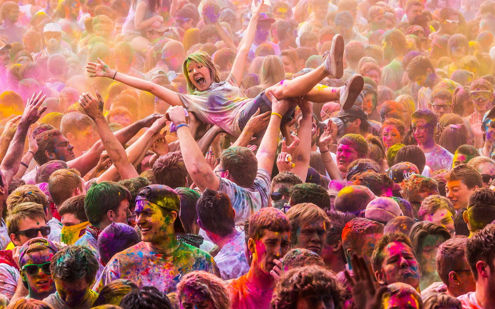 Festival of Colors Photo