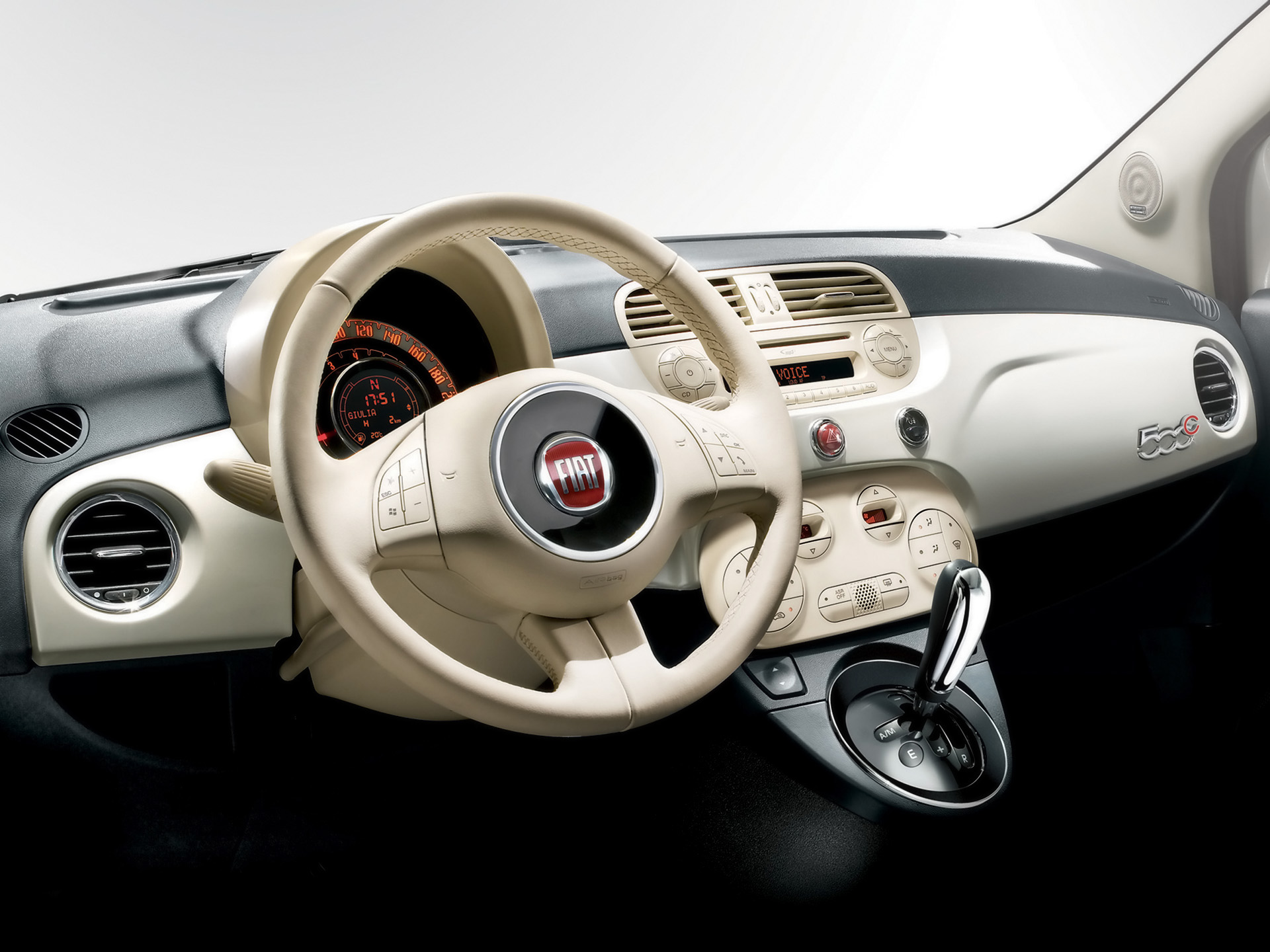 Fiat Interior Wallpaper