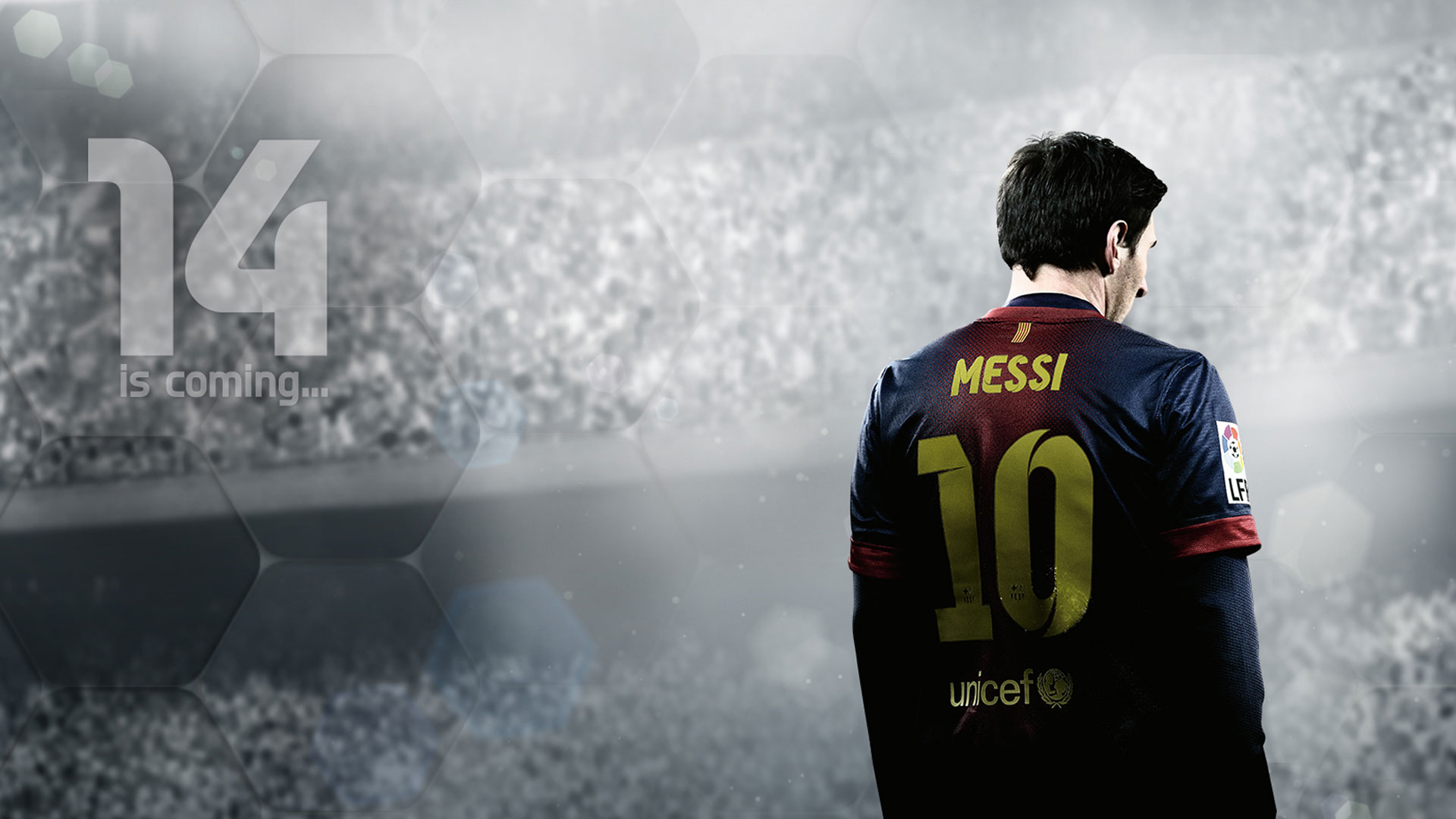 FIFA 14 Logo Wallpaper