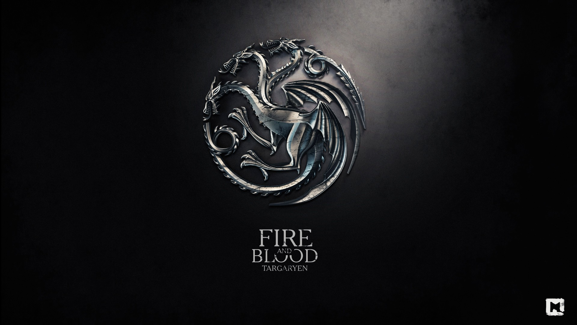 Fire and blood game of thrones