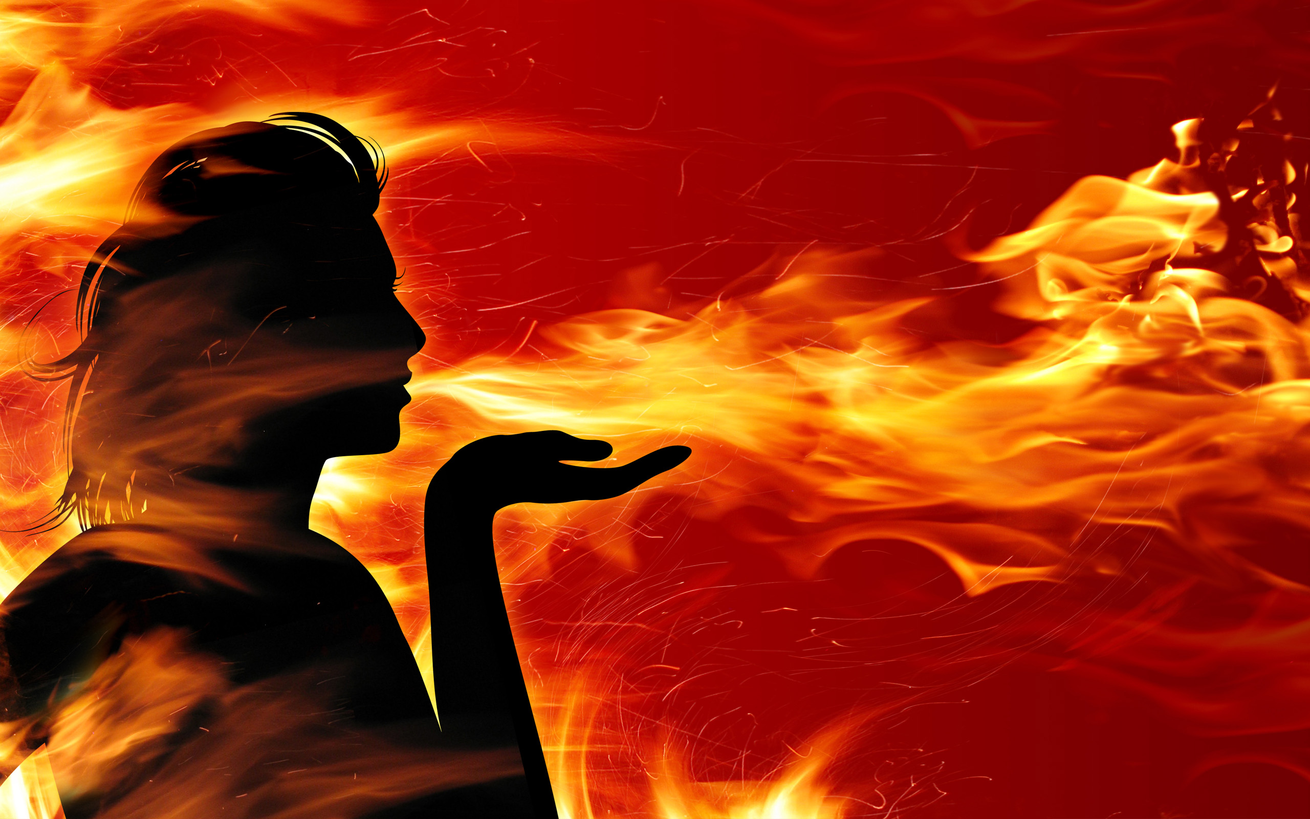 Women Of Fire Wallpapers Hd Xpx Wallpaper