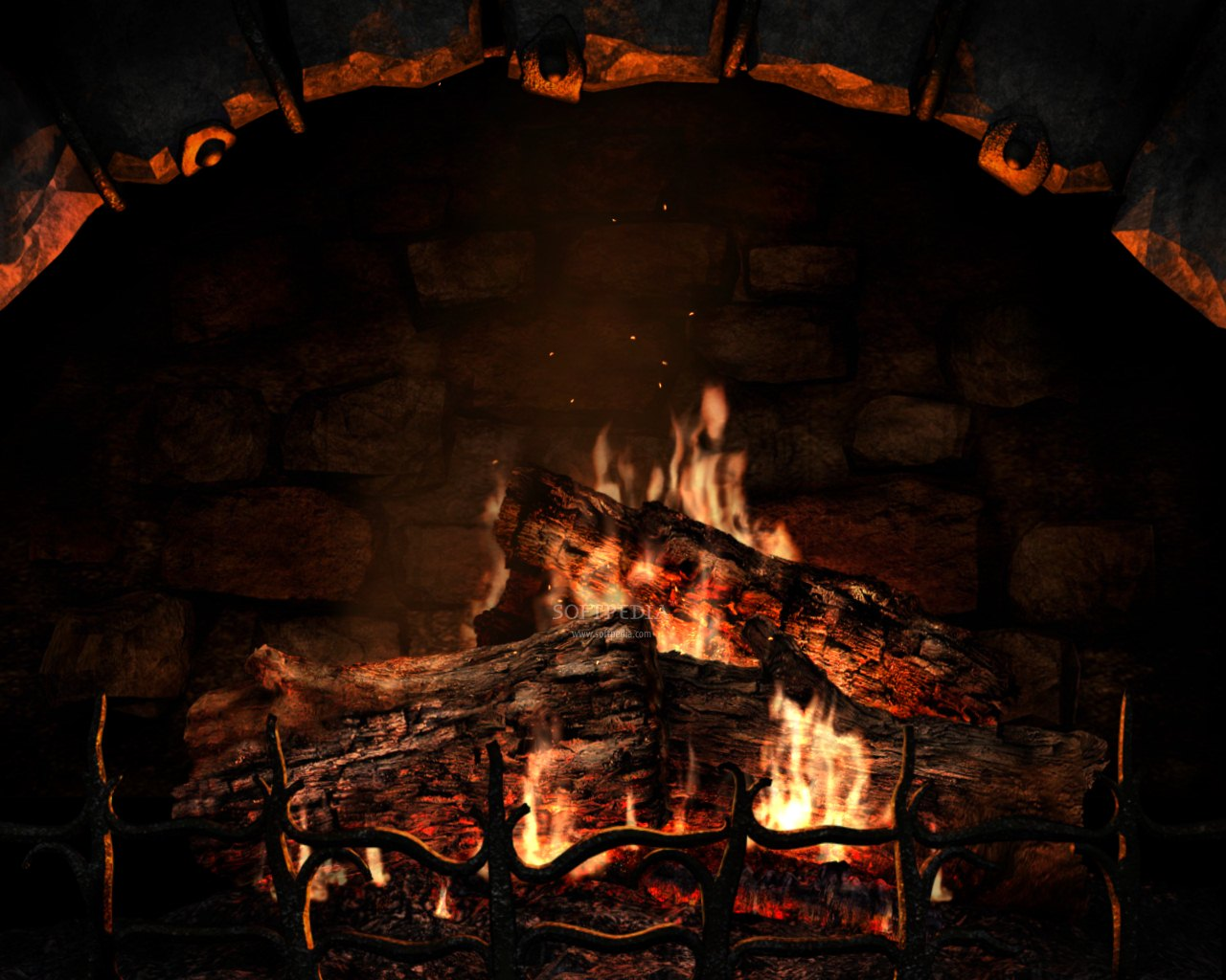 Fireplace Wallpaper