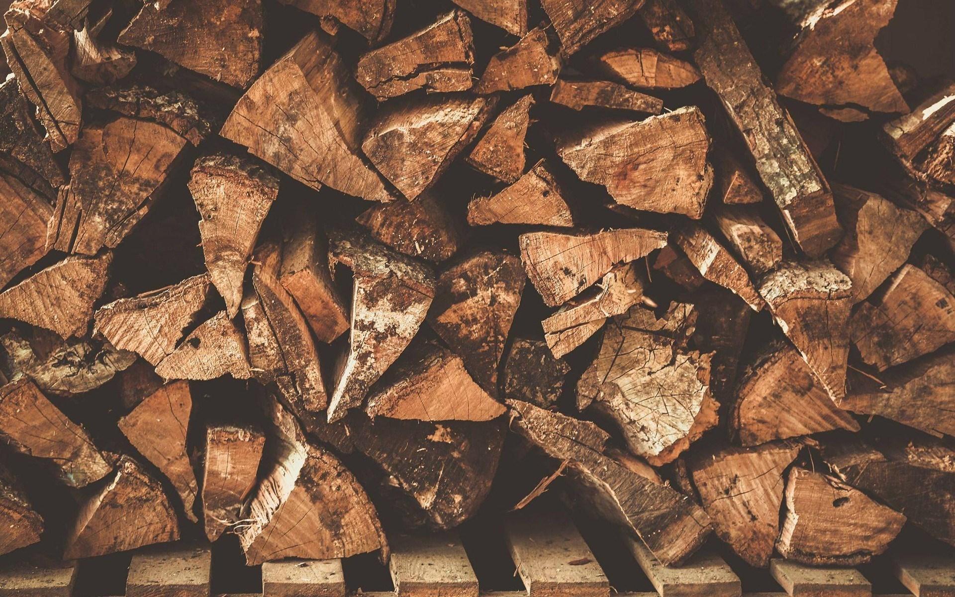 Firewood Wallpaper
