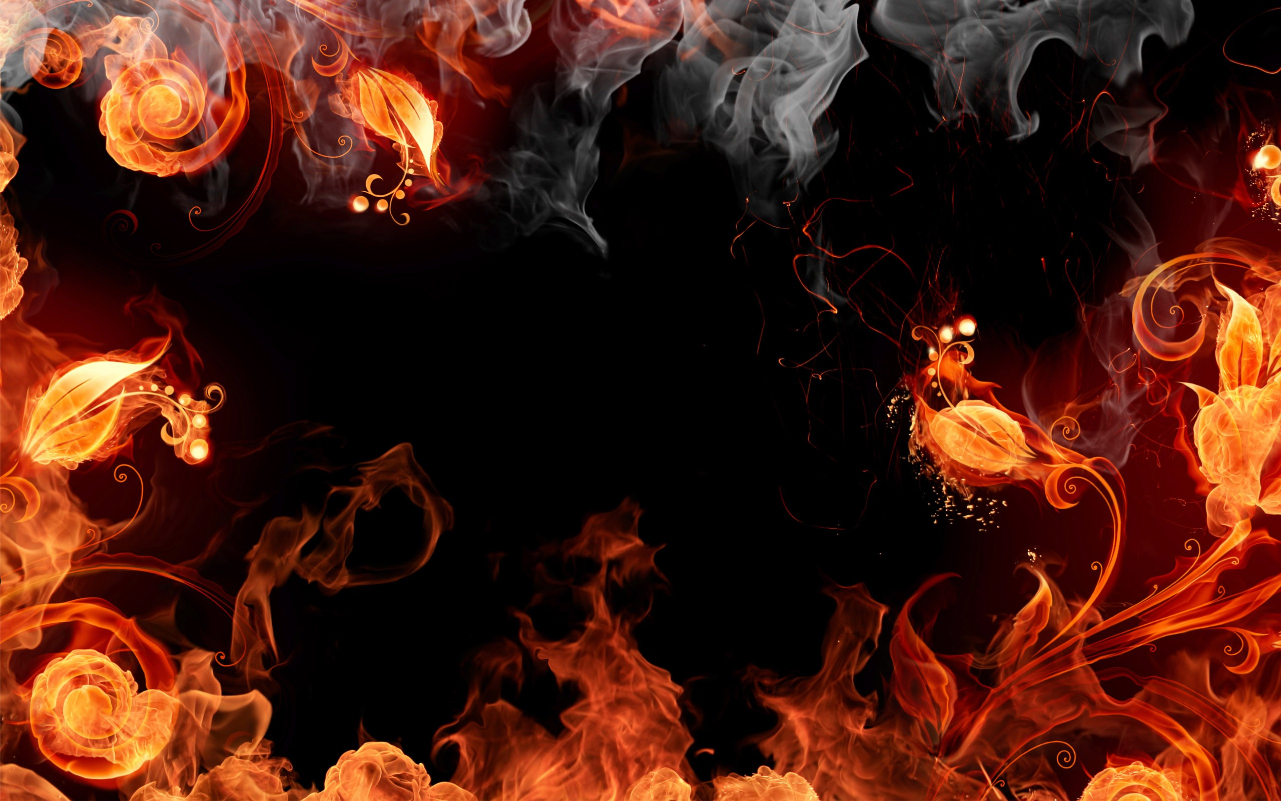 Flames Wallpaper