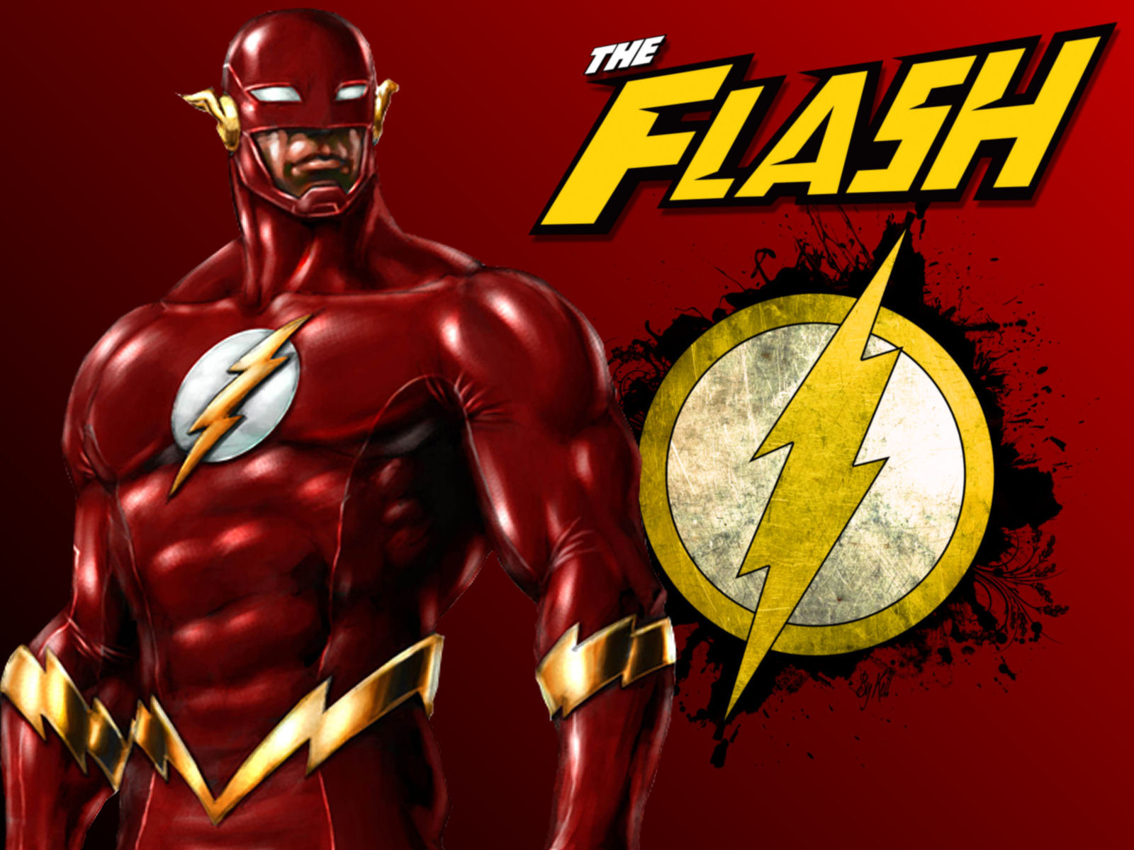 Flash superhero