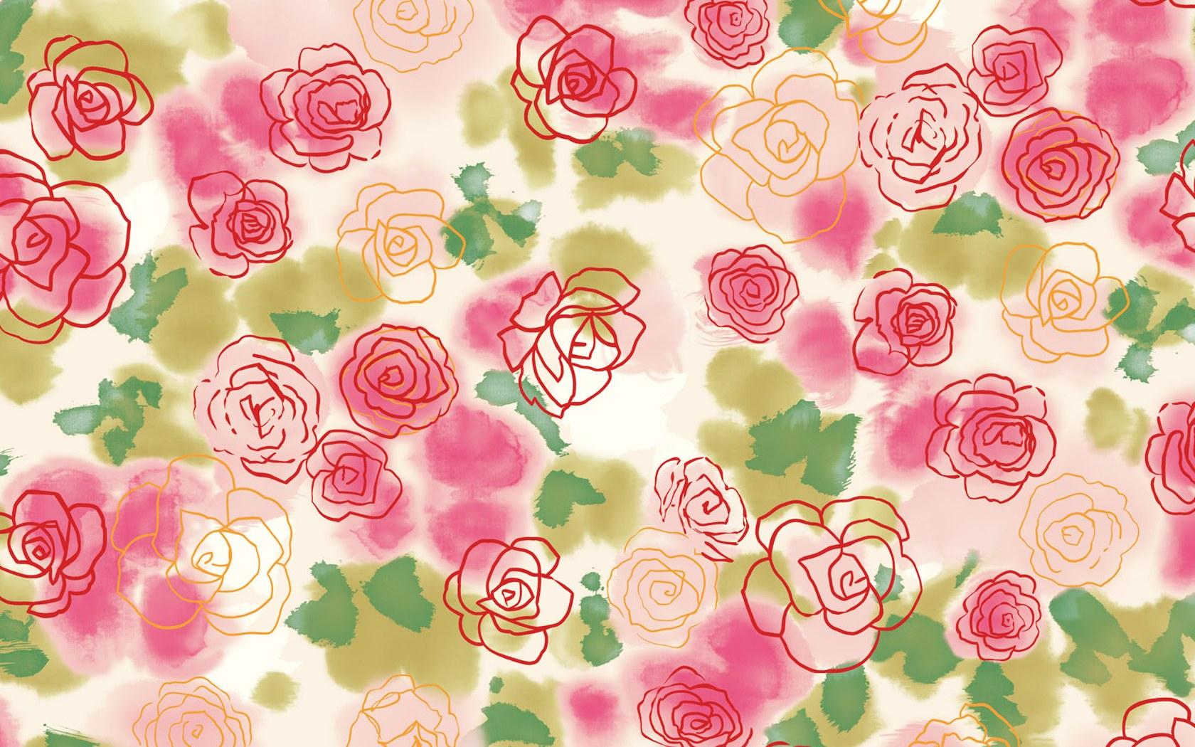 Floral Pattern Wallpaper 1680x1050 51573