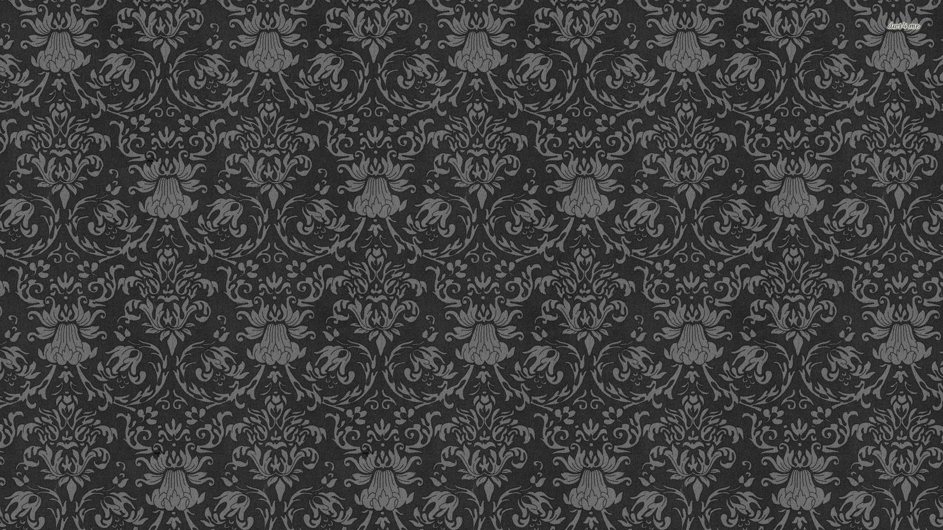 ... Vintage floral pattern wallpaper 1920x1080 ...