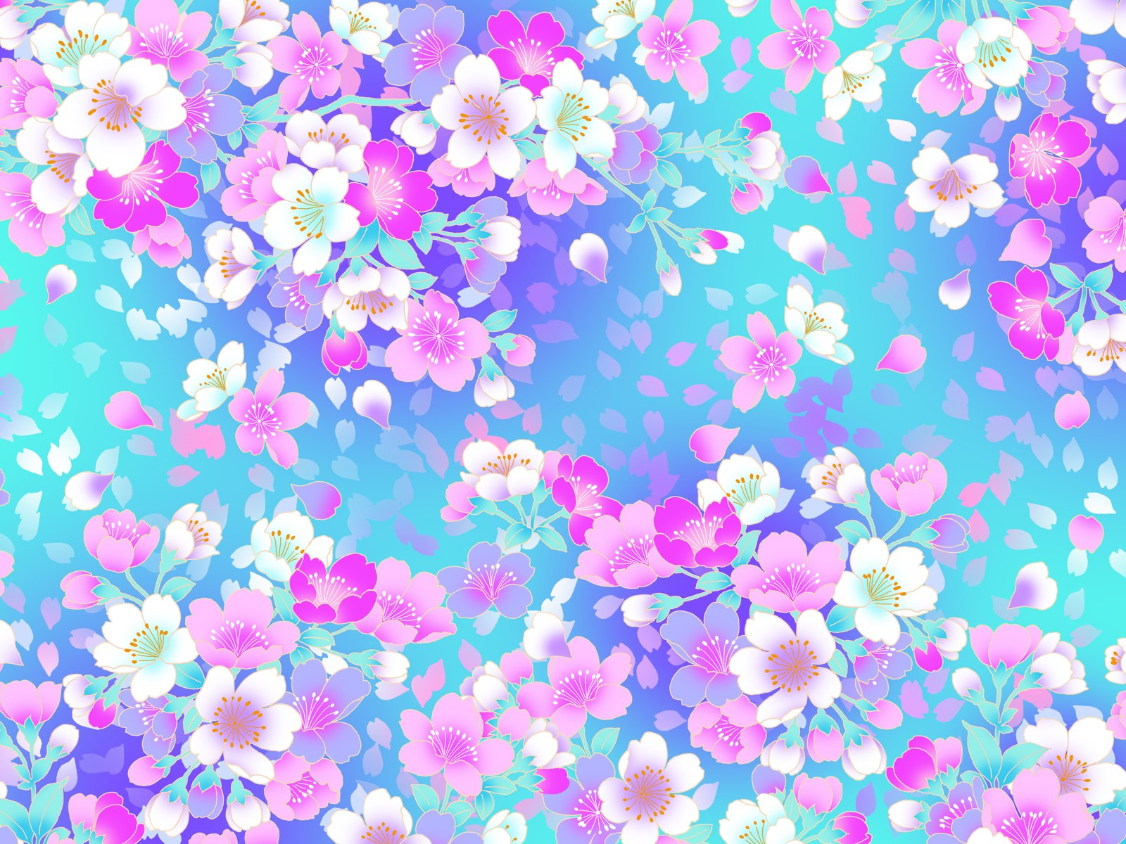 Flower Pattern Wallpaper Px Hdwallsource