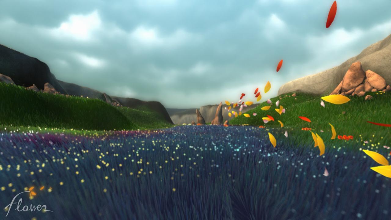 Flower Game Wallpaper