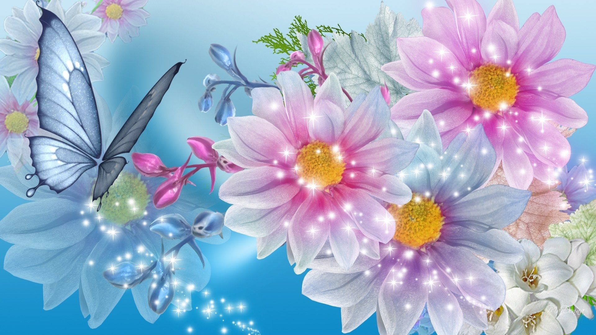 Beautiful Flower Wallpaper For Girls Desktop Wallpaper