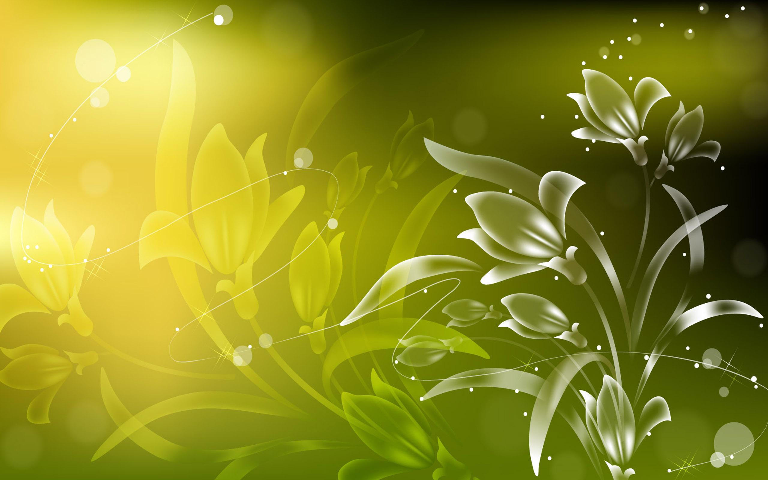 Flowers spark art