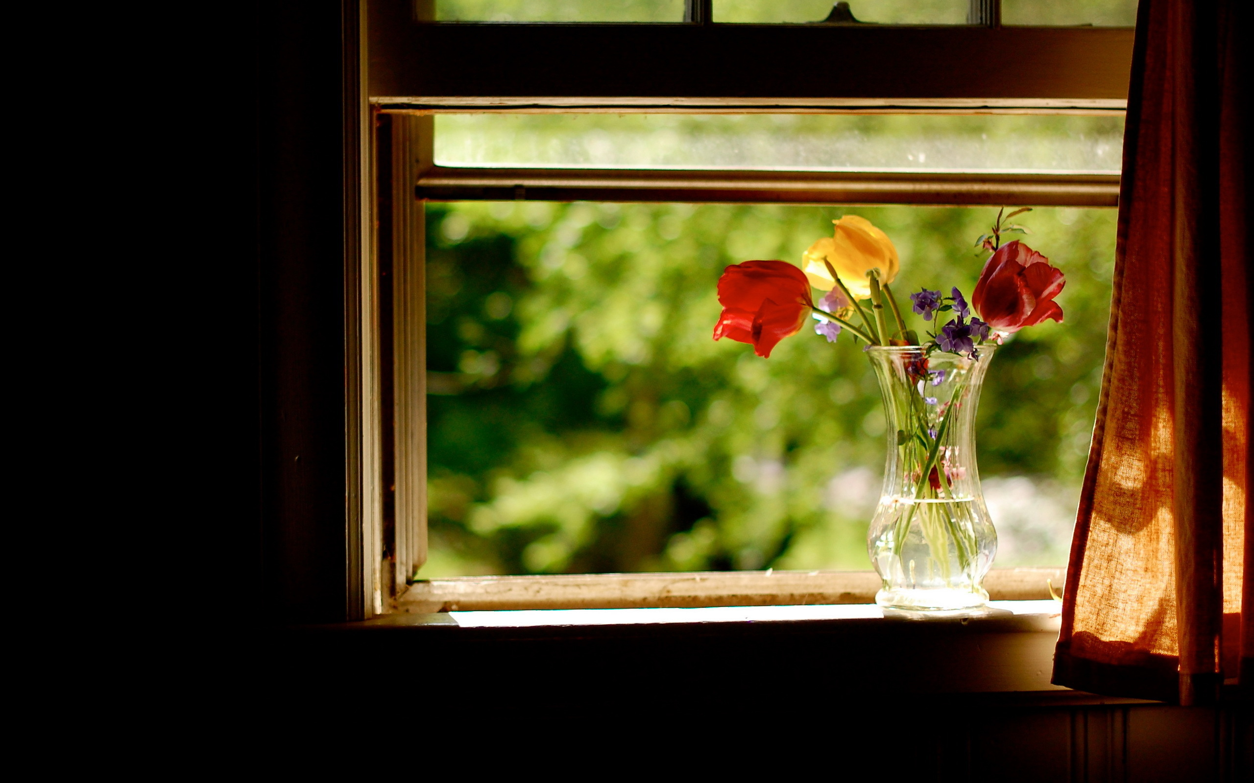 Flowers Window Seat